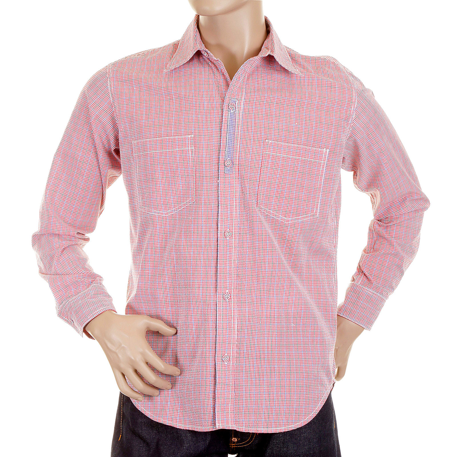 Dress to perfection with mens check shirt by yoropiko for Soft cotton long sleeve shirts