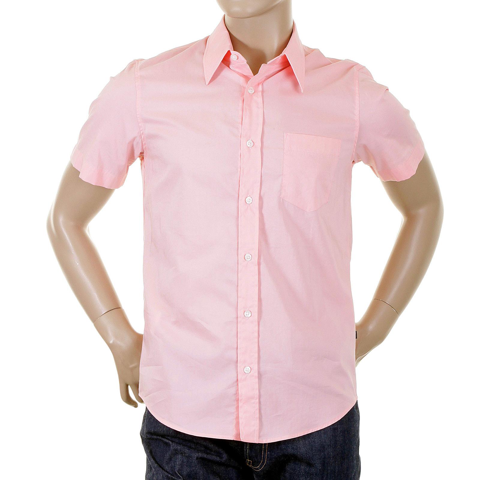 salmon pink shirt is shirt