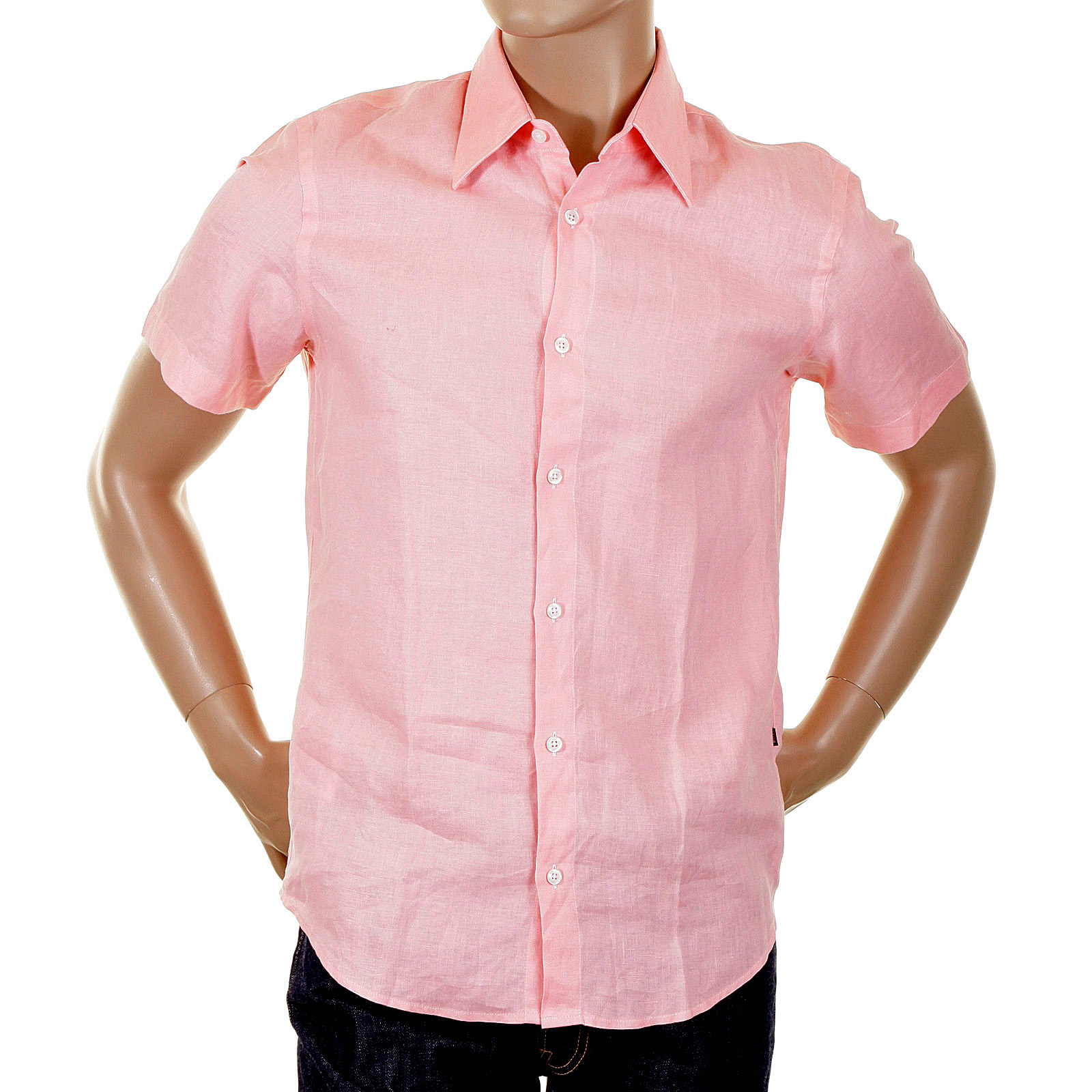 Pale Pink Shirt | Is Shirt