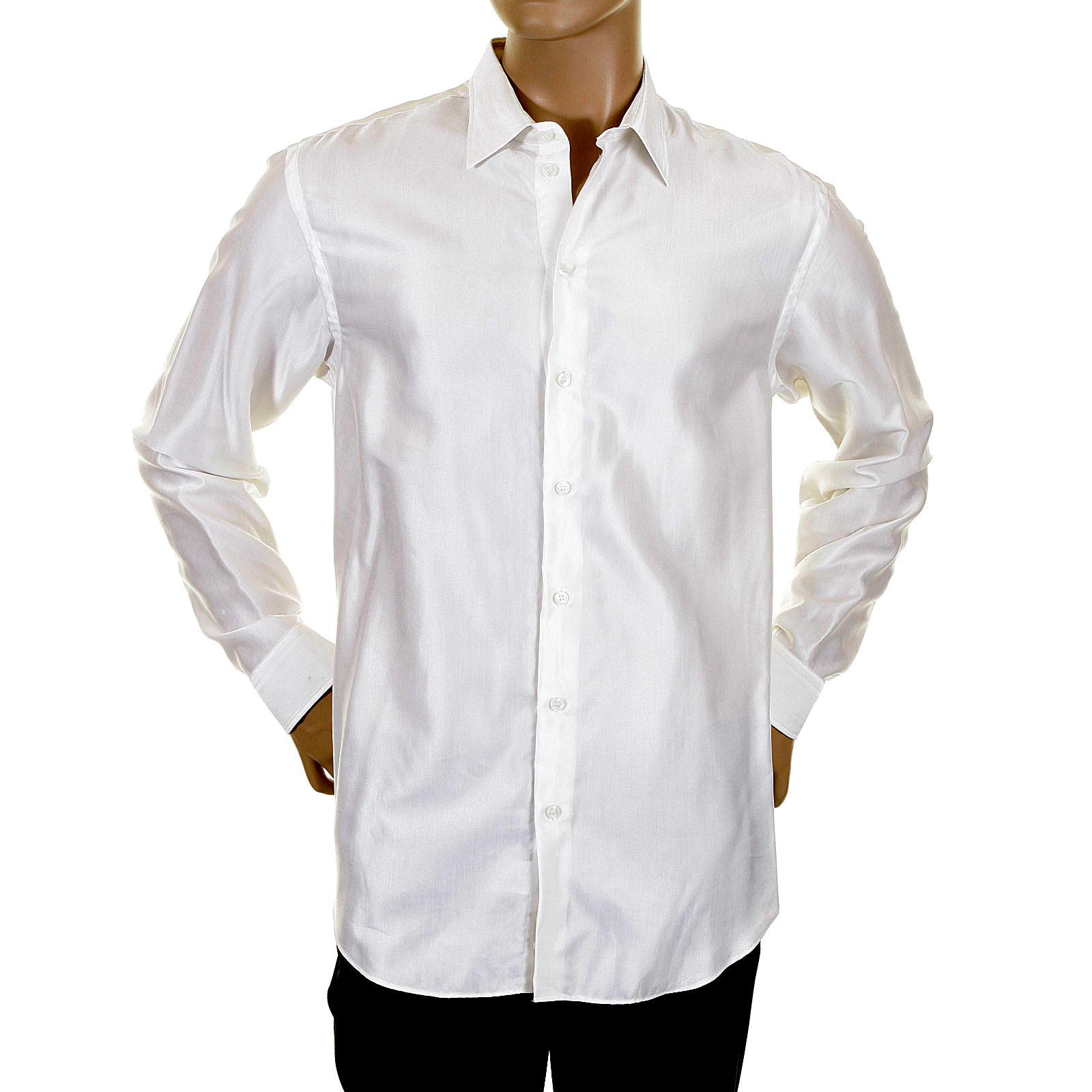 armani white mens shirt h2200l 63567 gam3835 at togged