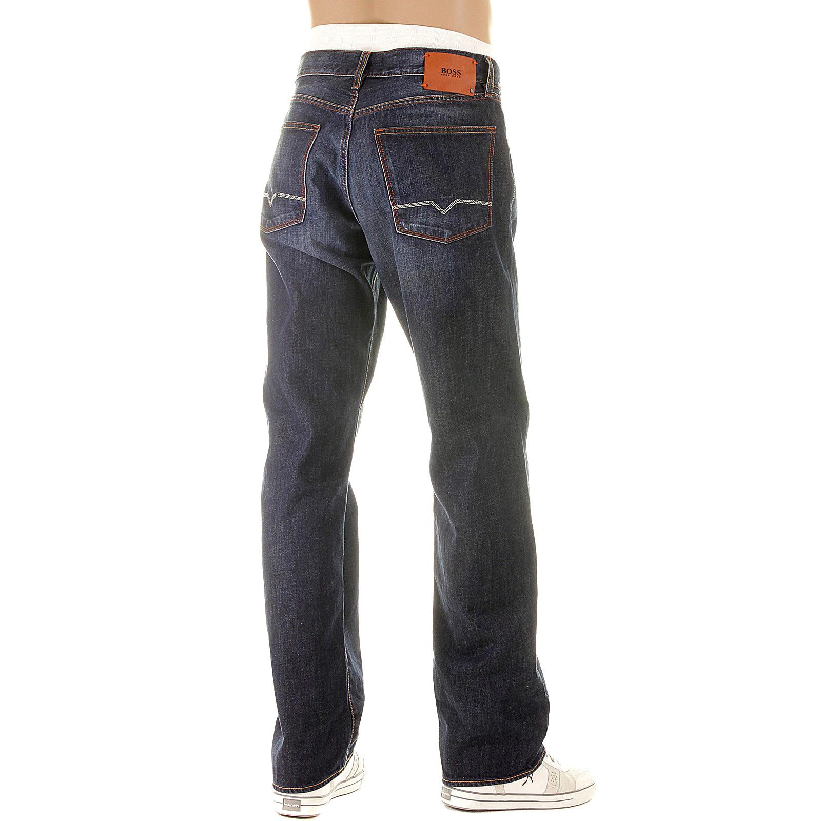 boss orange jeans hb1 401 50125187 dark wash hugo boss. Black Bedroom Furniture Sets. Home Design Ideas