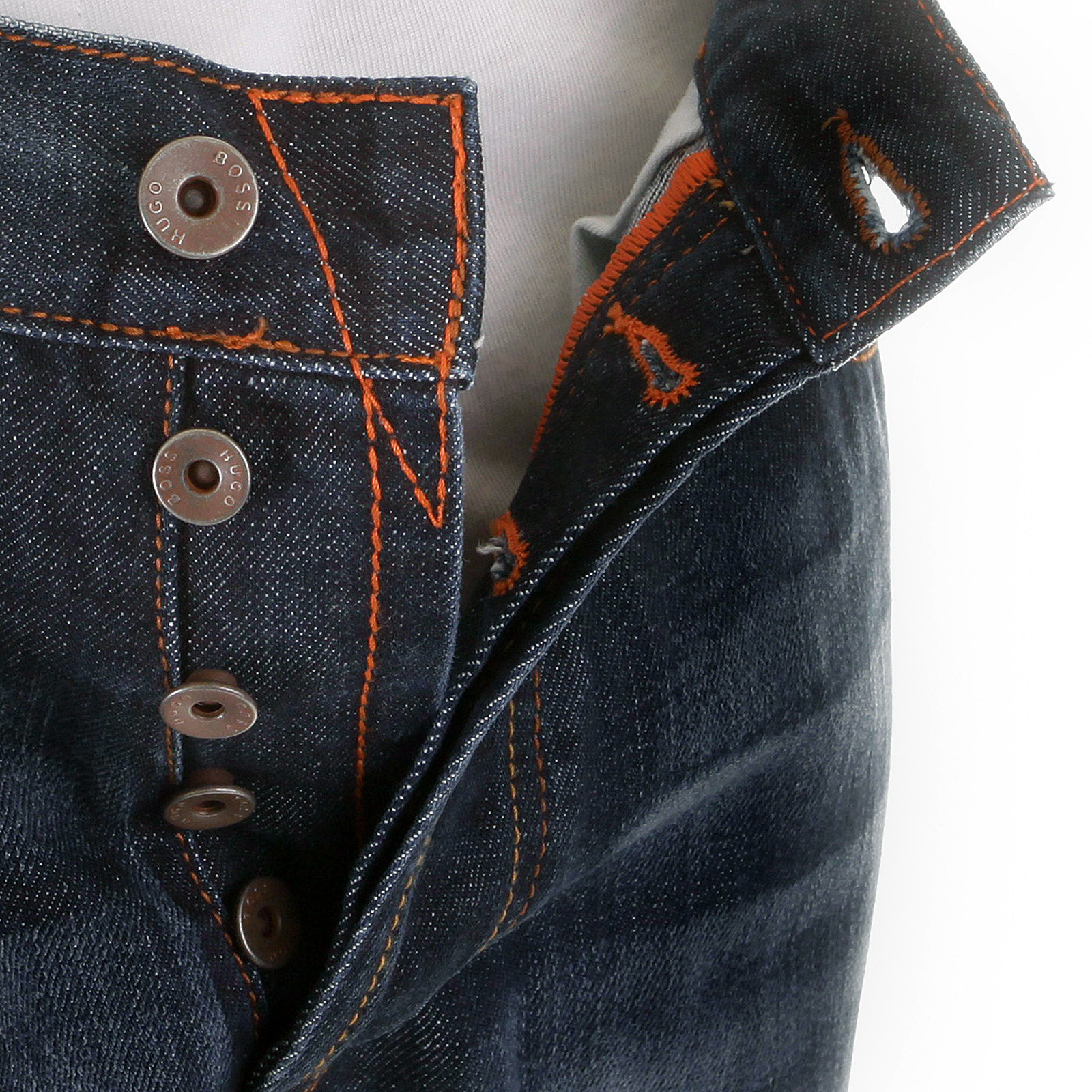83abd38c4d Meget Boss Orange Jeans HB1 401 50125187 dark wash Hugo Boss denim jean GK64