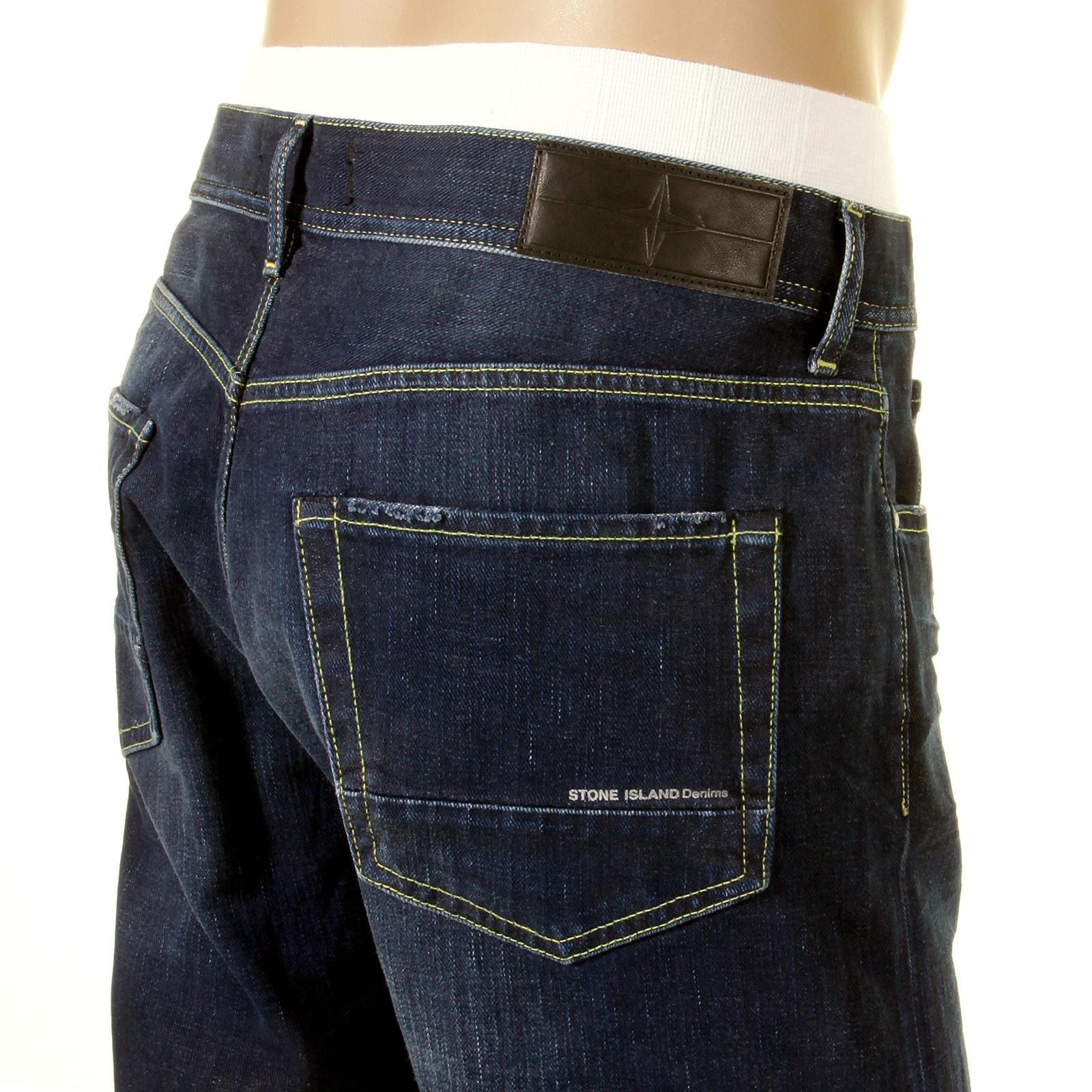 Stone Island Jeans Washed China Blue Denim Jean 511434f4