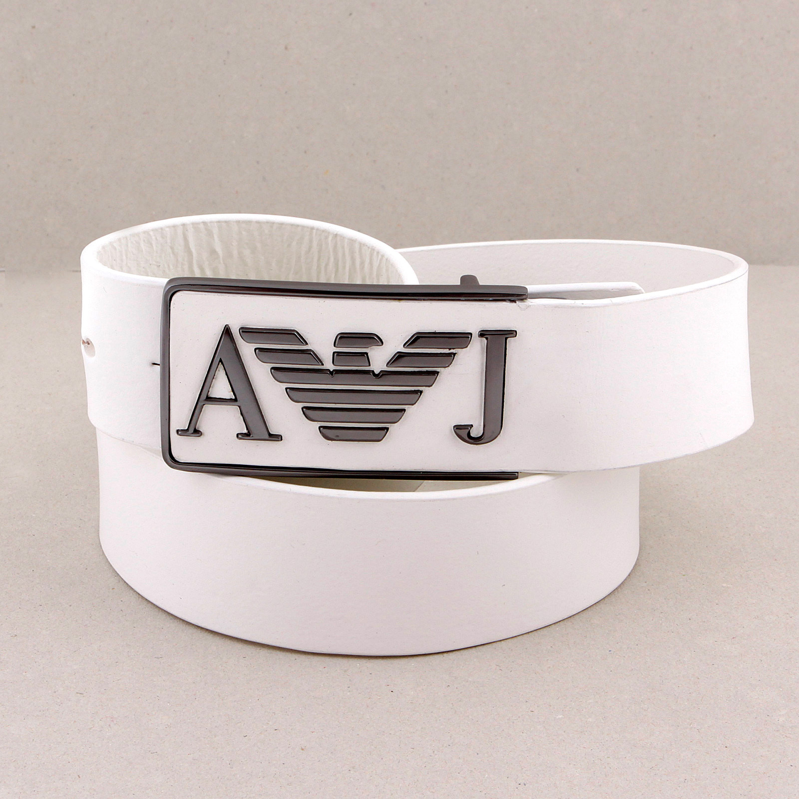 Casual Jeans Belt Armani Jeans Elk White Casual