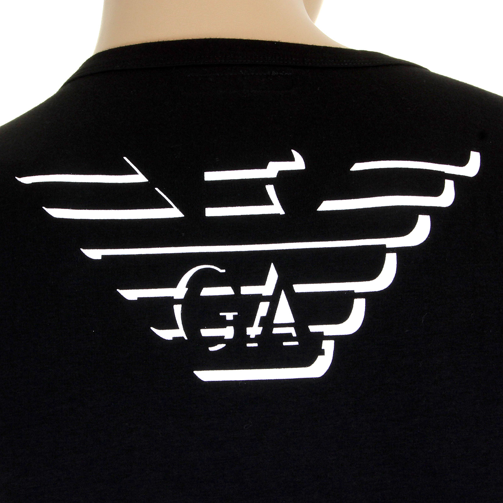 7e89d9080501b Emporio Armani black v neck t shirt 110752 1S512 EAM1505 at Togged ...