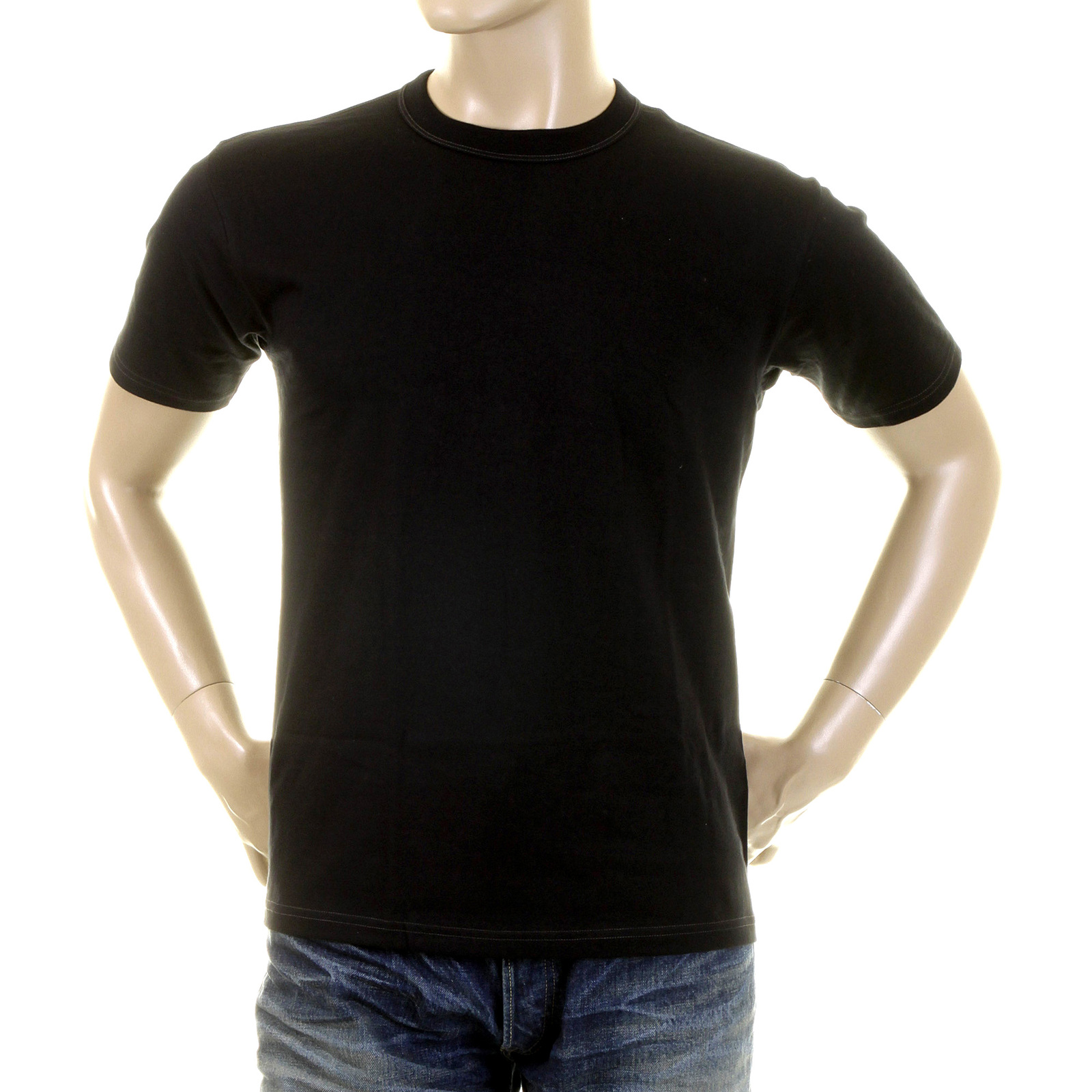 a8474b109ce Buy Mens Cool And Stylish Black T Shirt by Whitesville