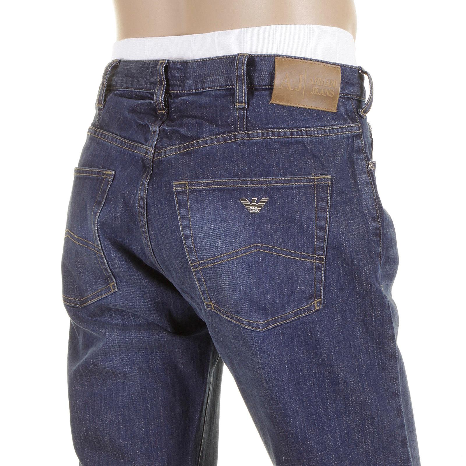 9aa009cd7a Jeans Armani Jeans J21 denim jeans stonewashed denim jean 06J21 3M AJM5368