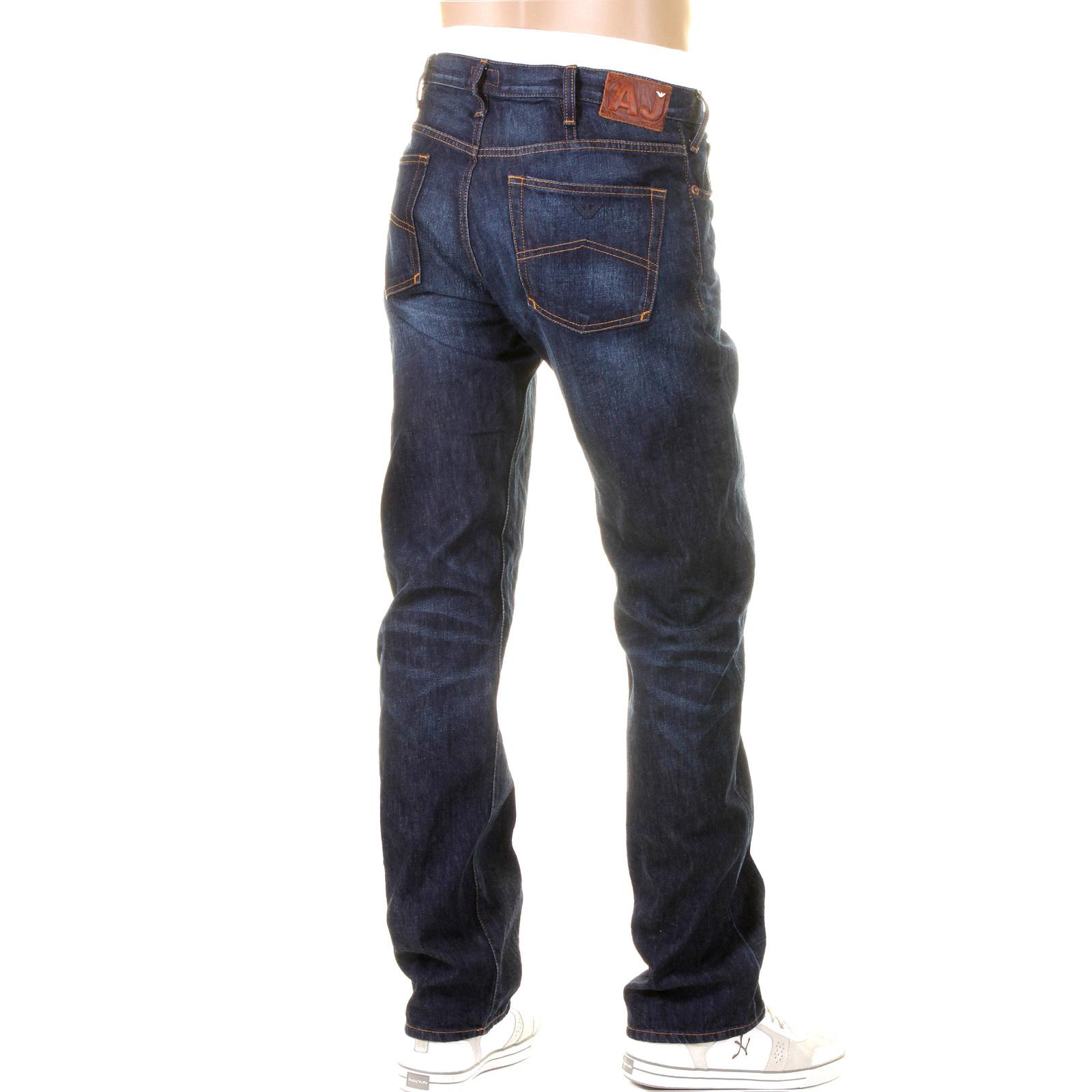 f2c255c4d839 Armani Jeans J21 regular fit dark wash denim jean P6J21 6D AJM1484 at  Togged Clothing