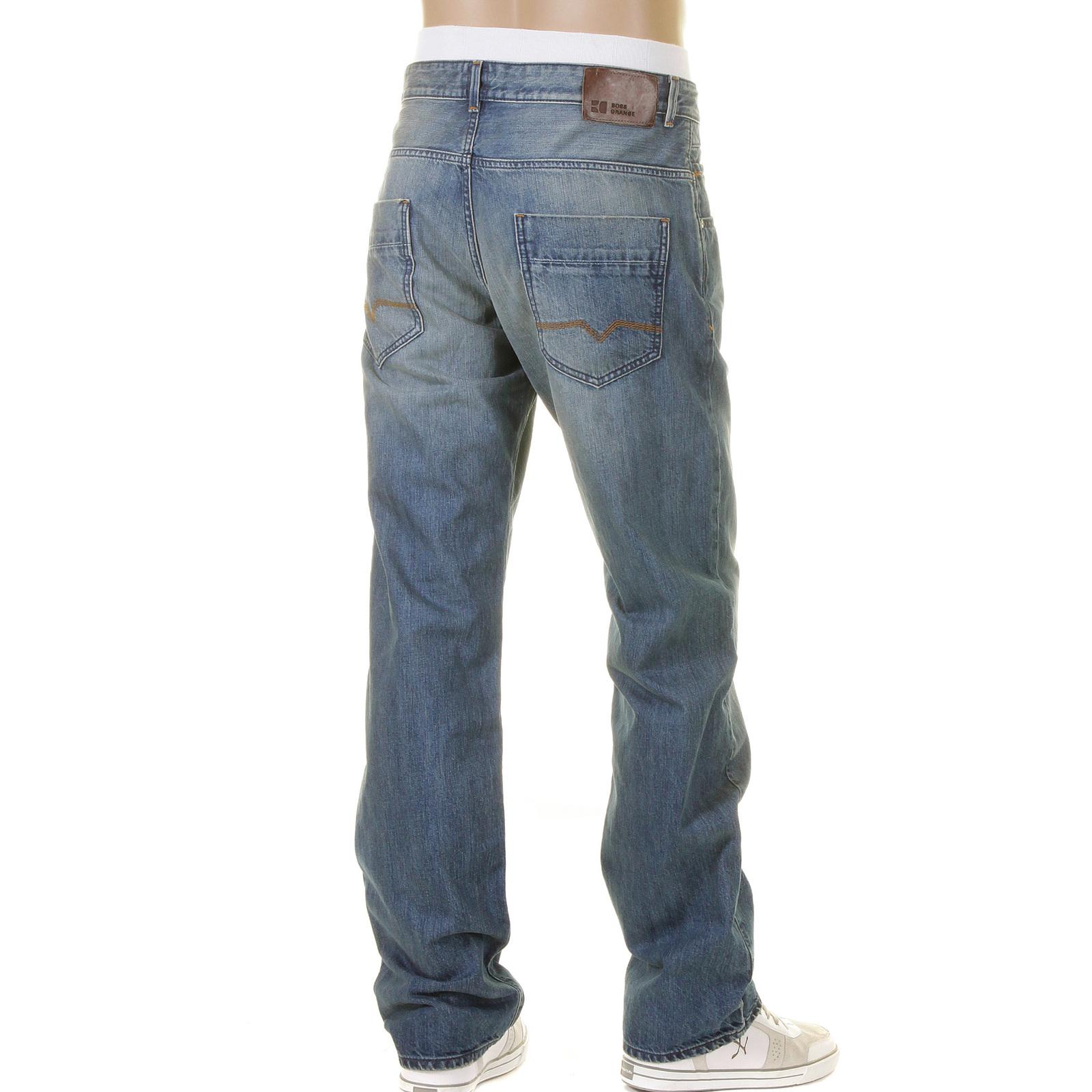 boss orange jeans 49 everyday comfort fit 50198164 420. Black Bedroom Furniture Sets. Home Design Ideas