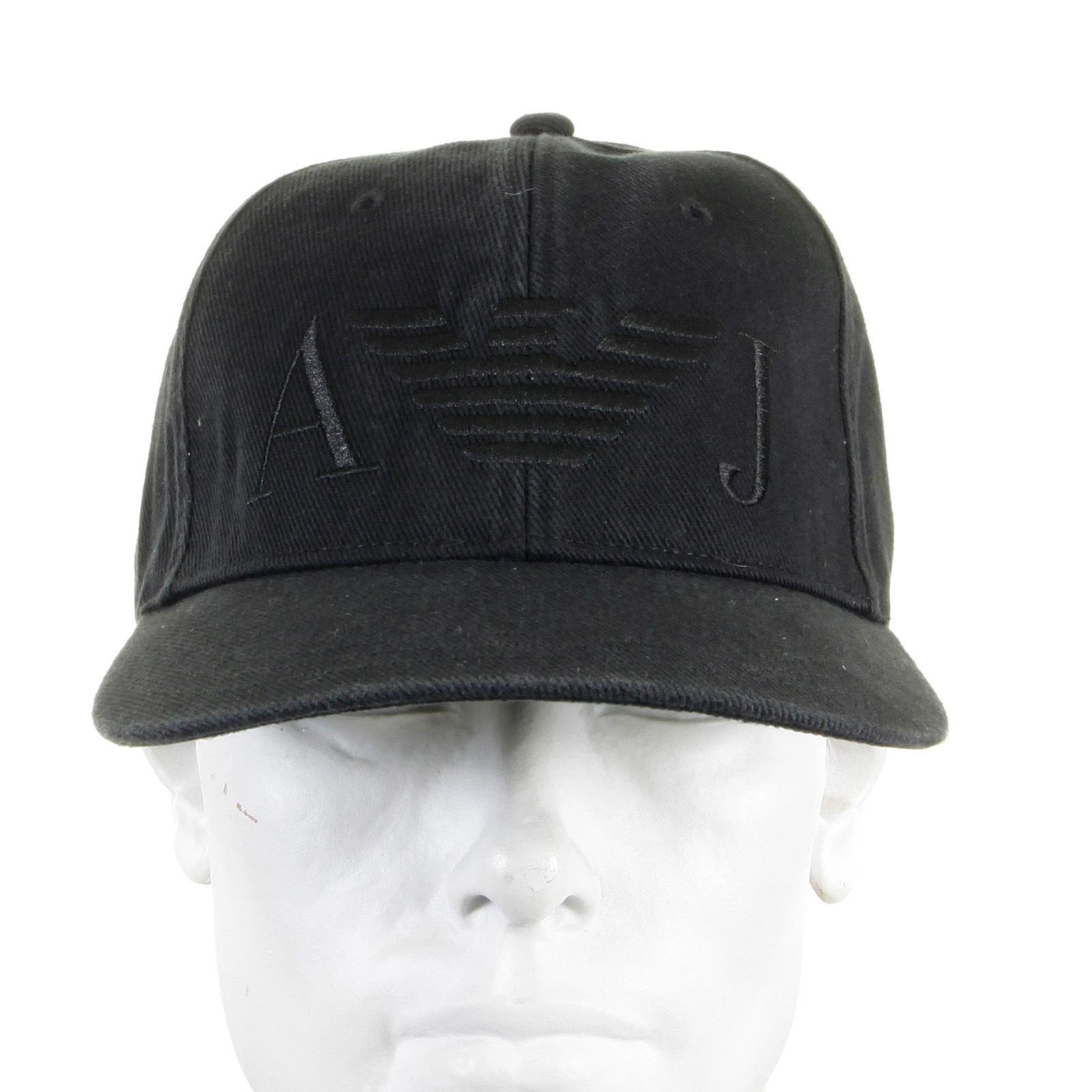 fb1cbece1e6 Armani Jeans black baseball cap 06481 XE AJM2266 at Togged Clothing