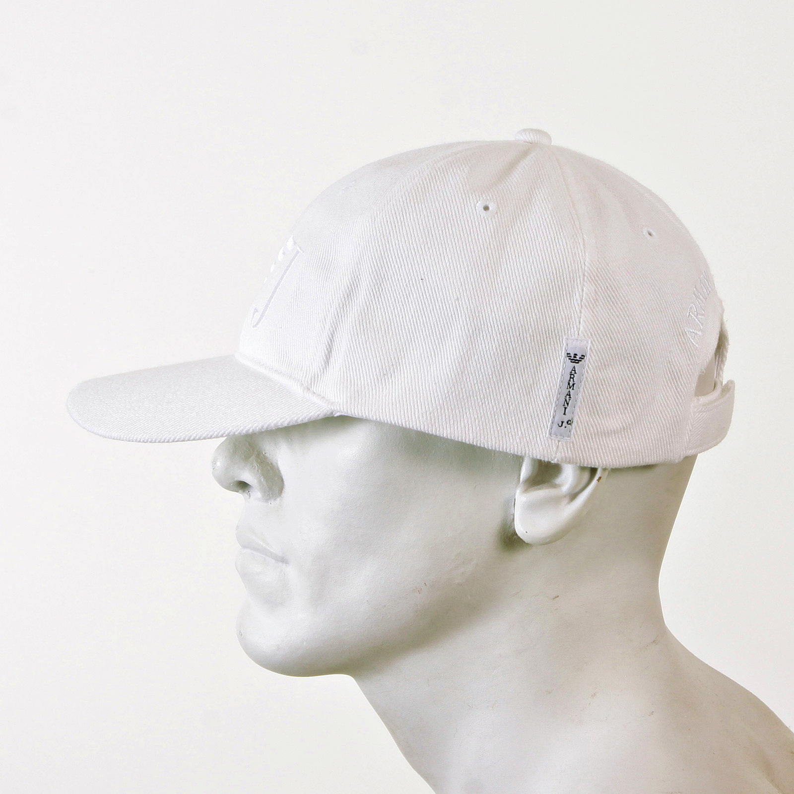 Armani Jeans baseball cap 06481 XE WHITE CAP AJM2265 at Togged Clothing c51c689dc10