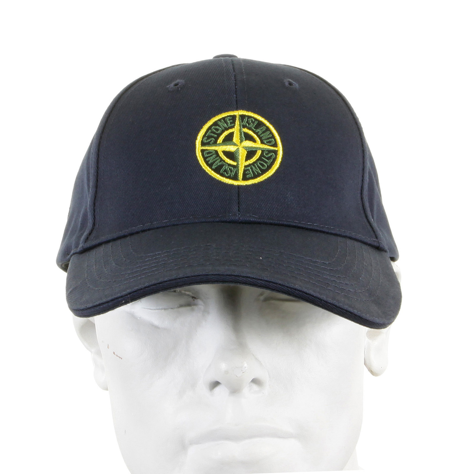 8d55f287f6d Stone Island Cap navy cotton baseball cap SI2754 at Togged Clothing