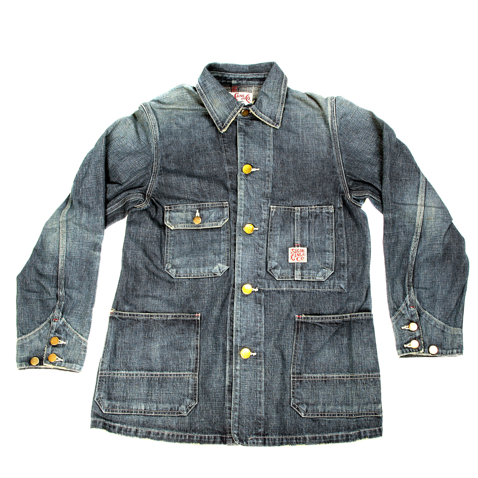 Cool and Trendy Denim Jackets for Men by Sugarcane UK