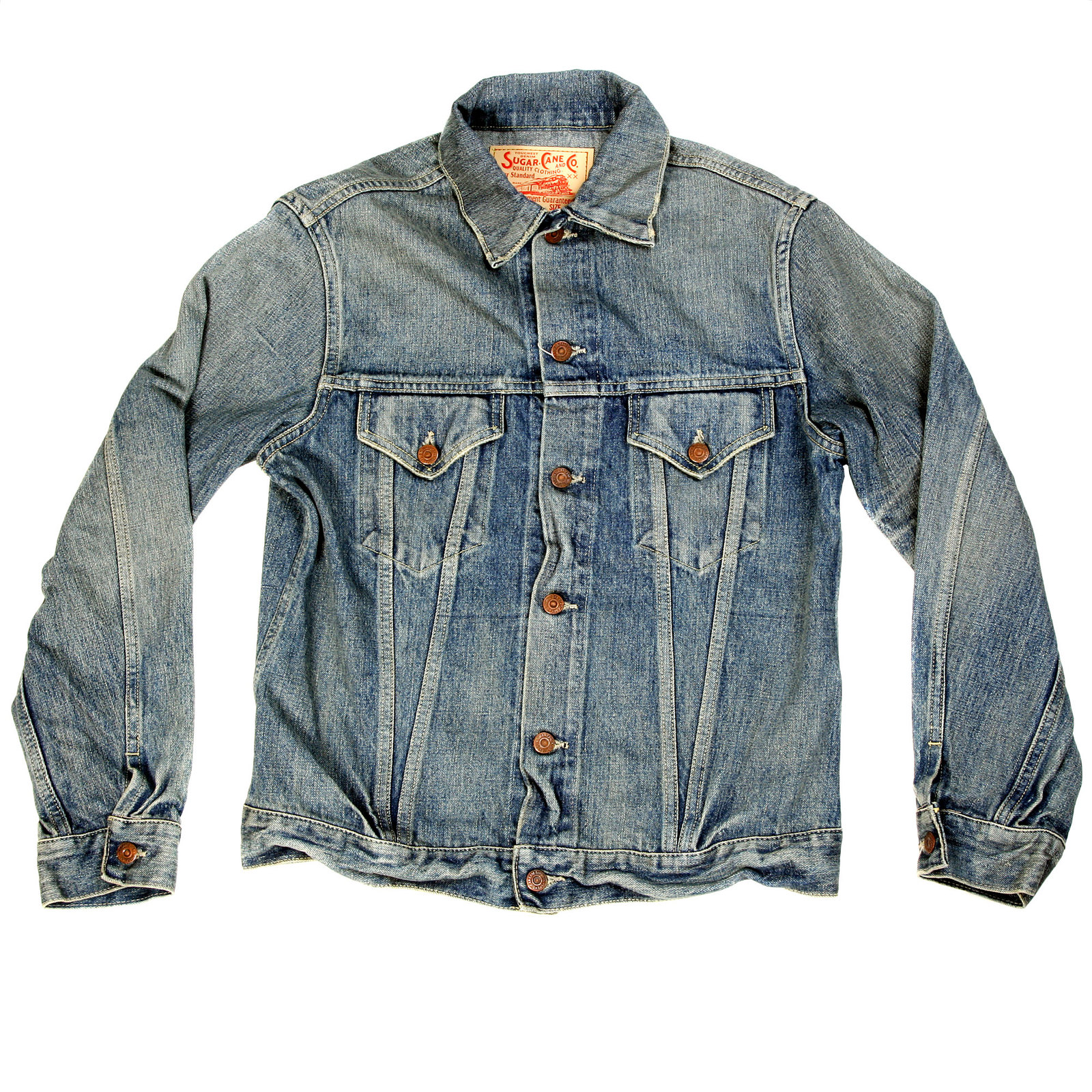 Intoxicatingly Cool Denim Jacket by Sugarcane Clothing