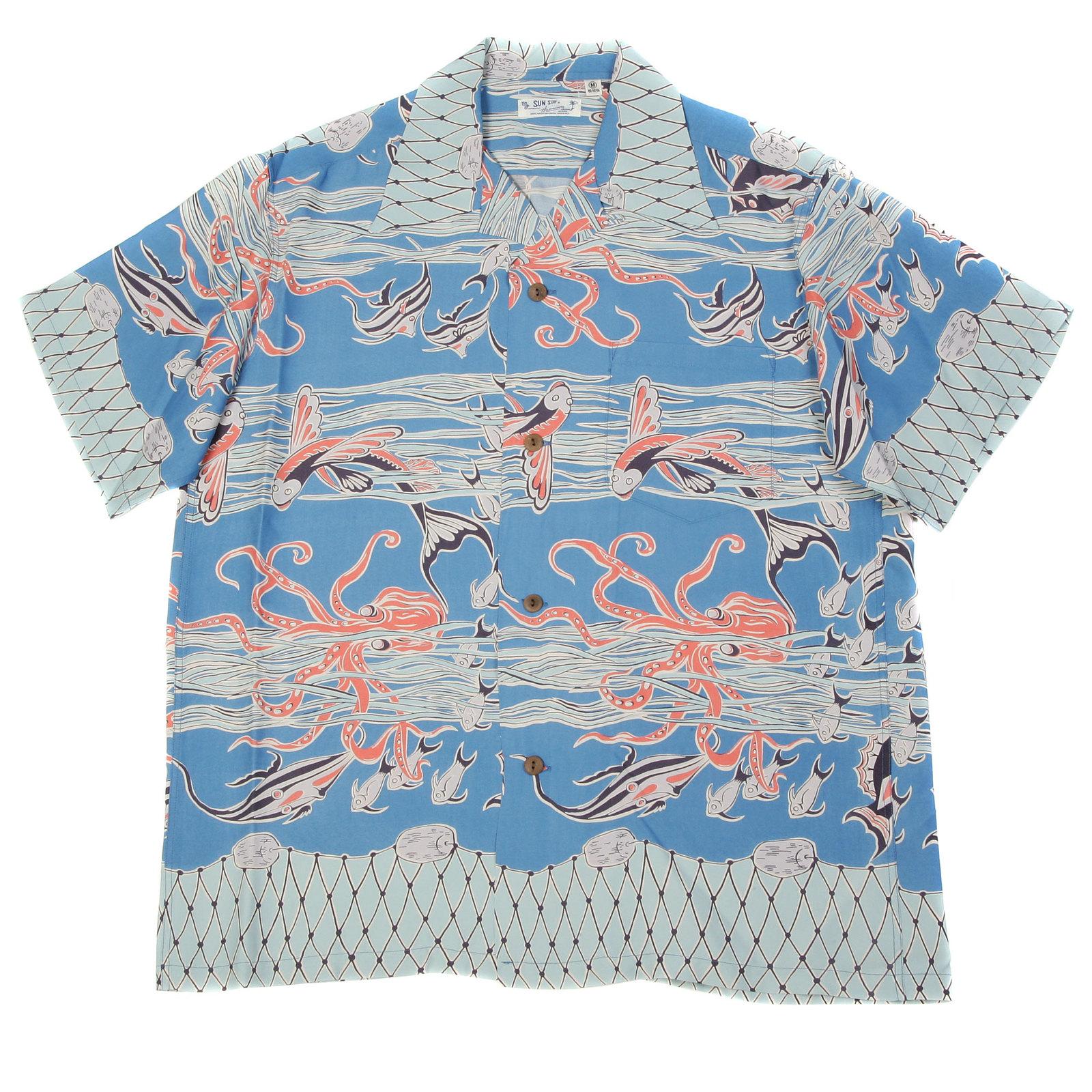 f0564475c806 Sun Surf Hawaiian shirt SS33327 Hawaiian Octopus and Friends short sleeve  shirt - SURF9052 at Togged Clothing