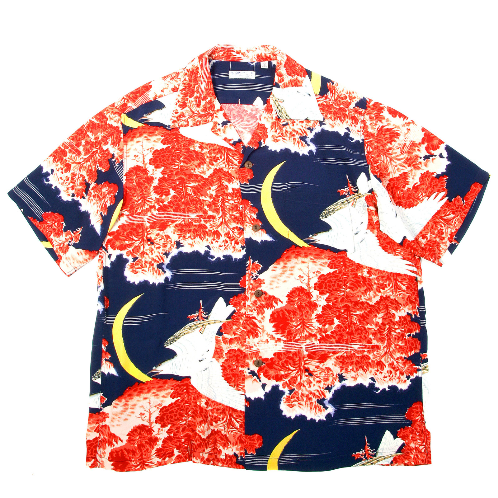 25ee3939 Vintage Womens Hawaiian Shirt - DREAMWORKS