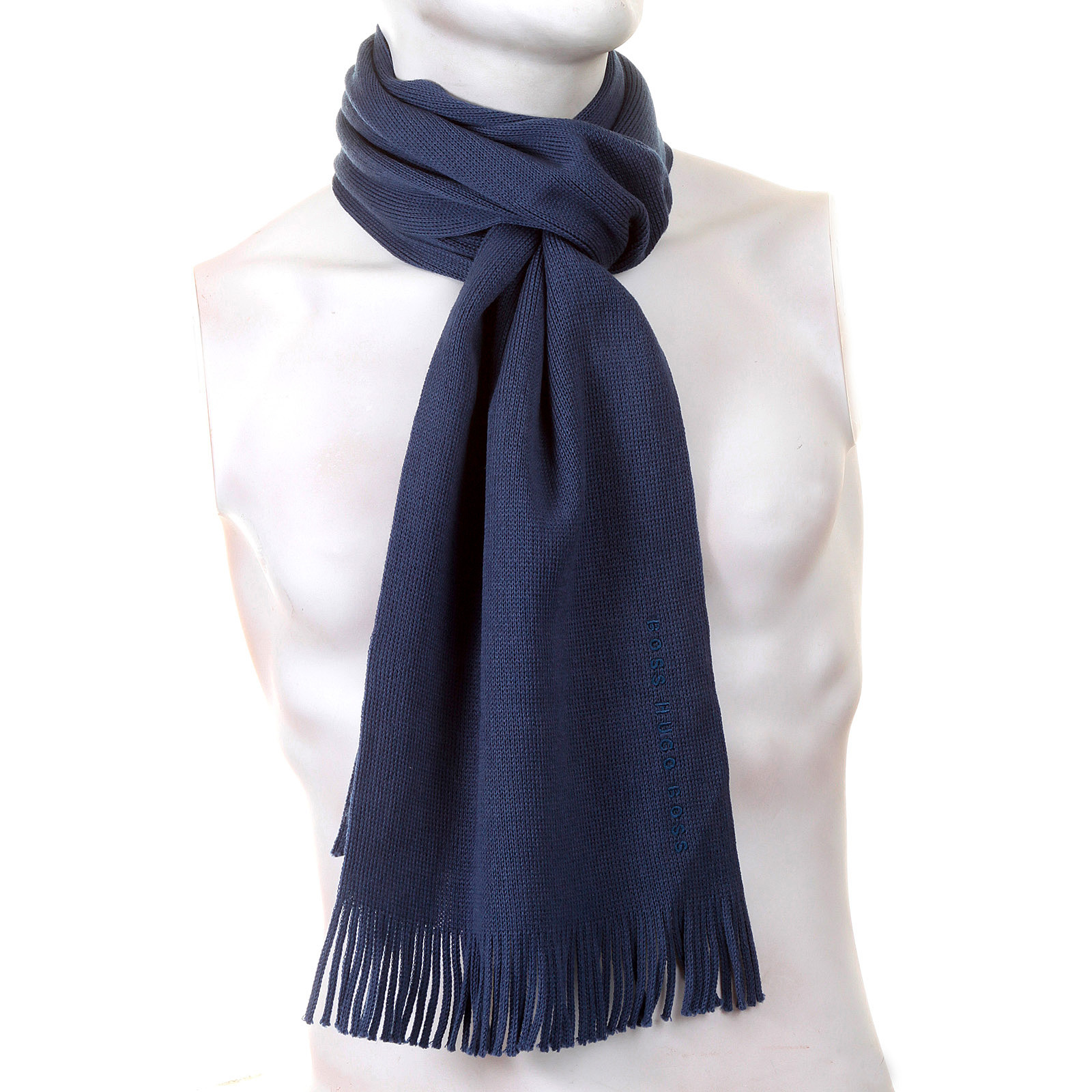Hugo Boss Scarf Albas Airforce Blue scarf BOSS0838 at ...