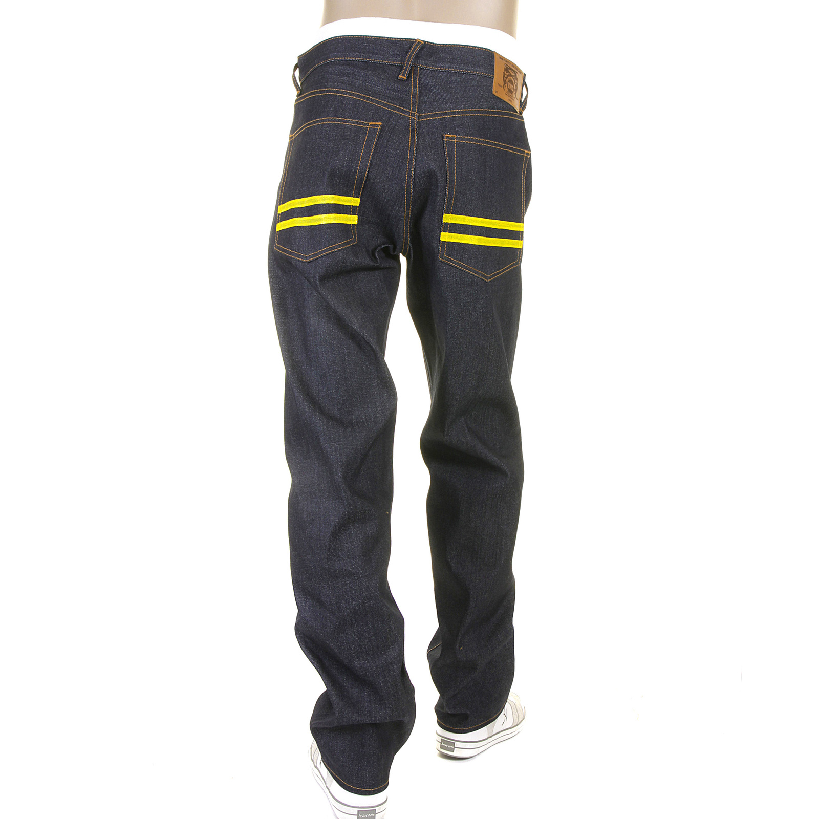 Classy Five Pocket Hand Painted Slim Fit Jeans from RMC