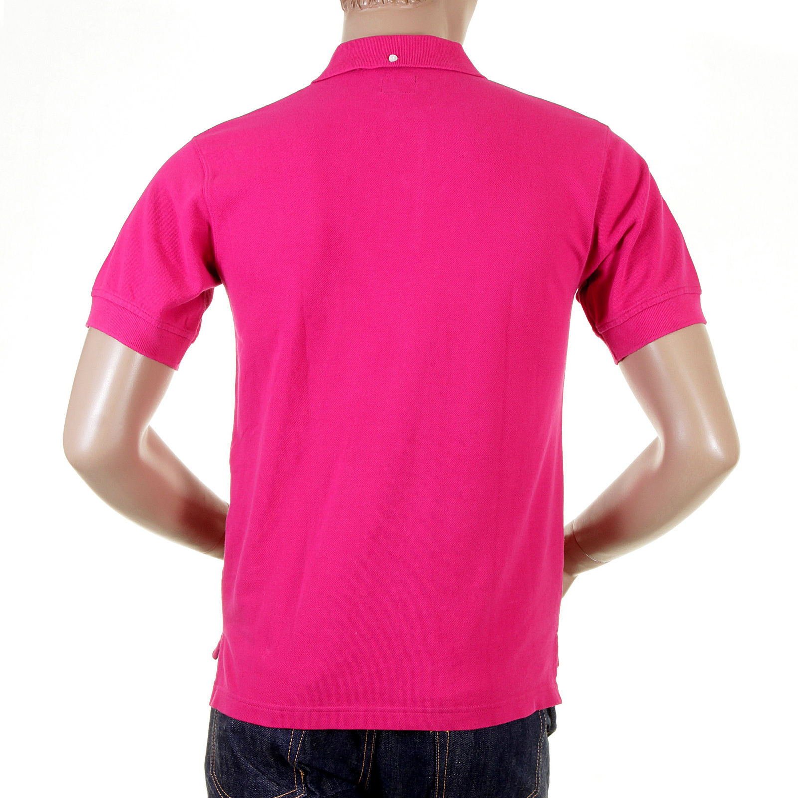 Wear The Charm Of The Pink Polo Shirt By Evisu Now