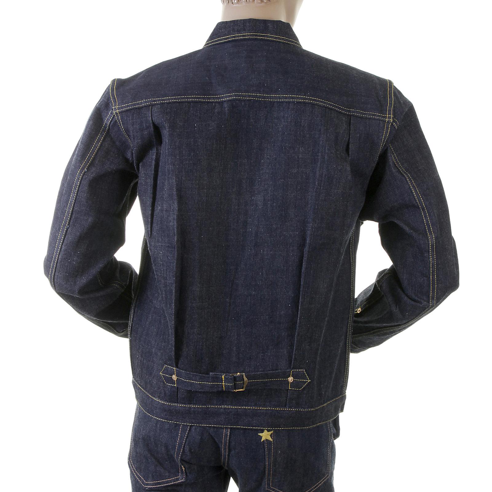 6b181688e070 Evisu Heritage Early Original Non Wash Denim Number One Special Jacket  EVIS1690