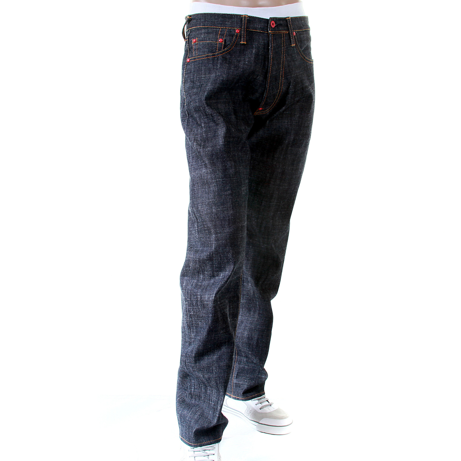 Mens Painted Jeans