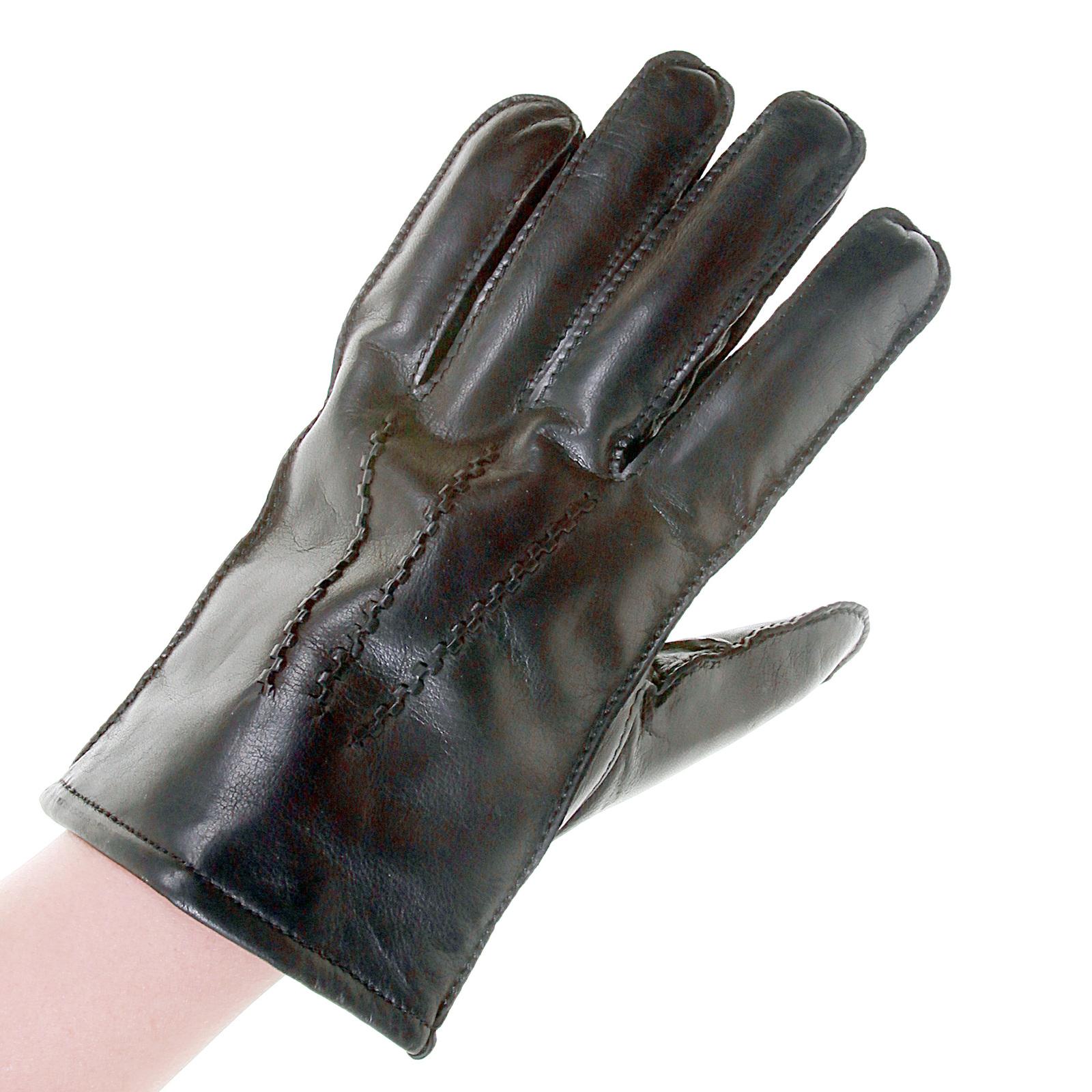 Mens leather gloves boss - Boss Black Label Haindt Leather Gloves 50237108 Boss2921