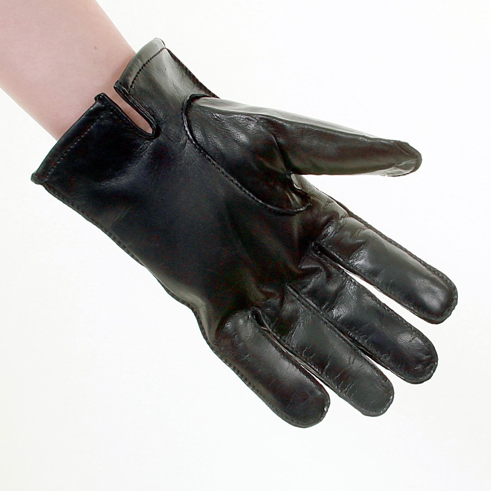 Hugo boss ladies leather gloves - Boss Black Label Haindt Leather Gloves 50237108 Boss2921