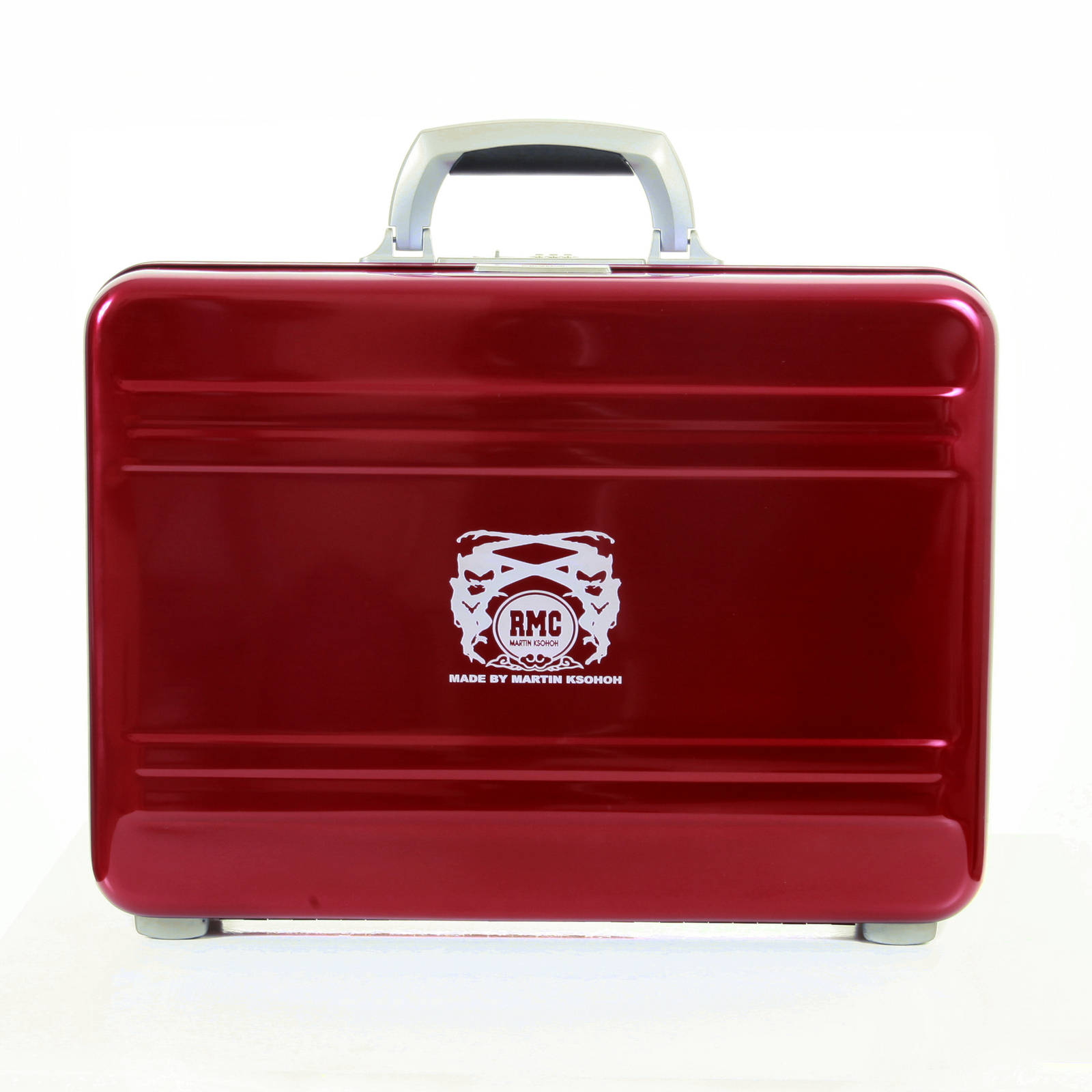Shop For Rmc Aluminium Limited Edition Red Briefcase