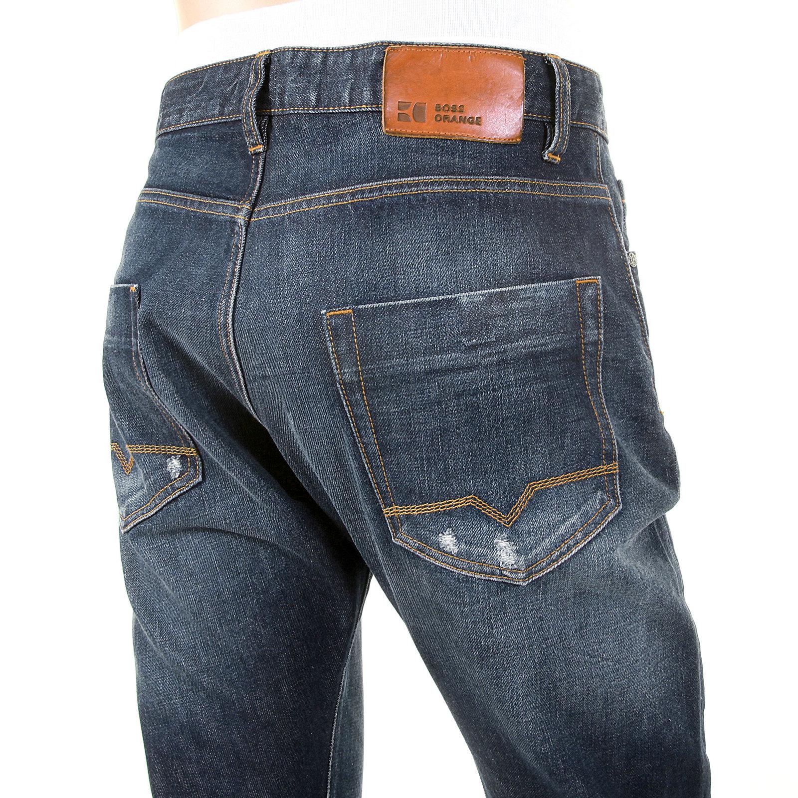 boss orange jeans regular fit orange35 squared 50207987 at. Black Bedroom Furniture Sets. Home Design Ideas