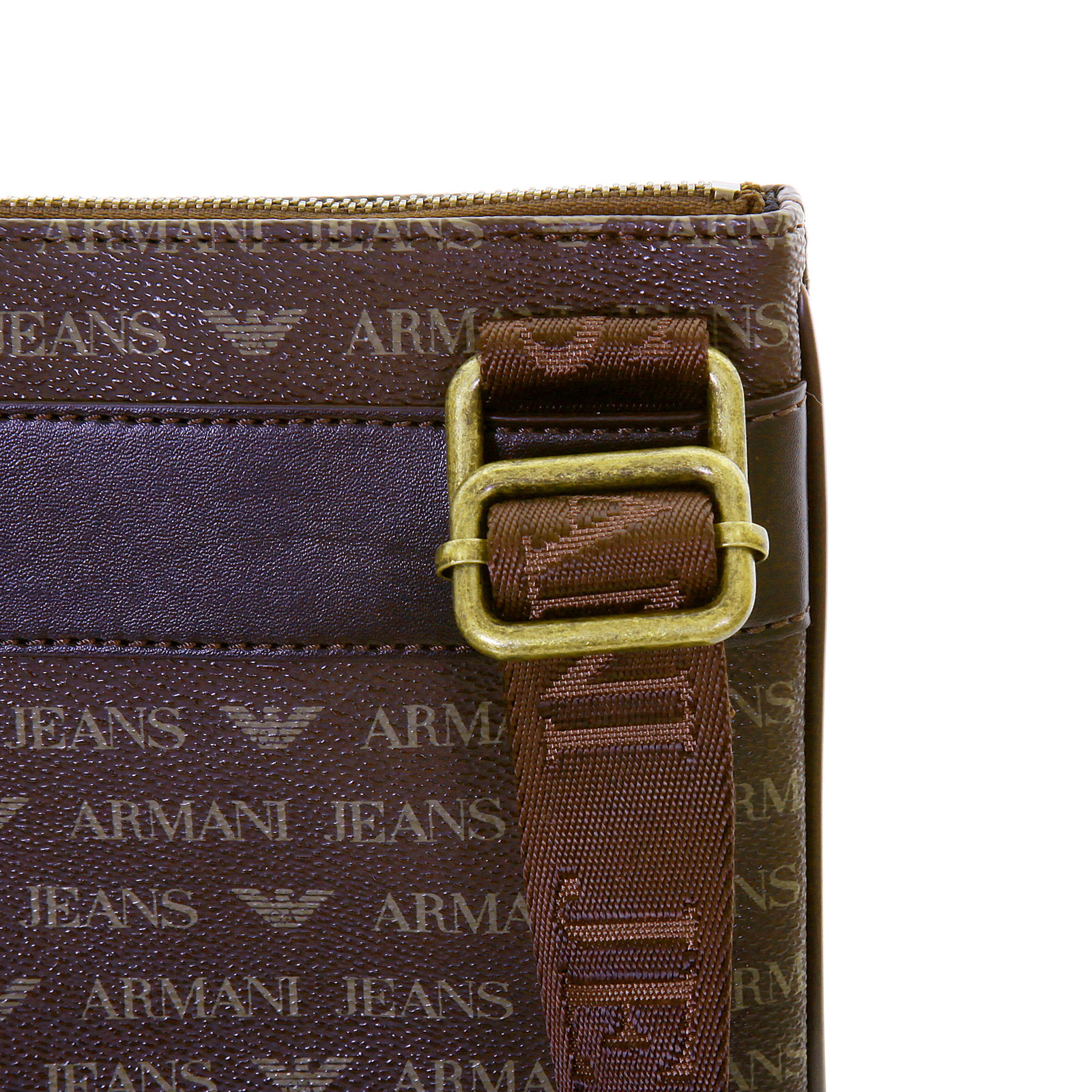 Armani Jeans mens brown logo small messenger bag AJM2472 at Togged ... 95a964bc6a739