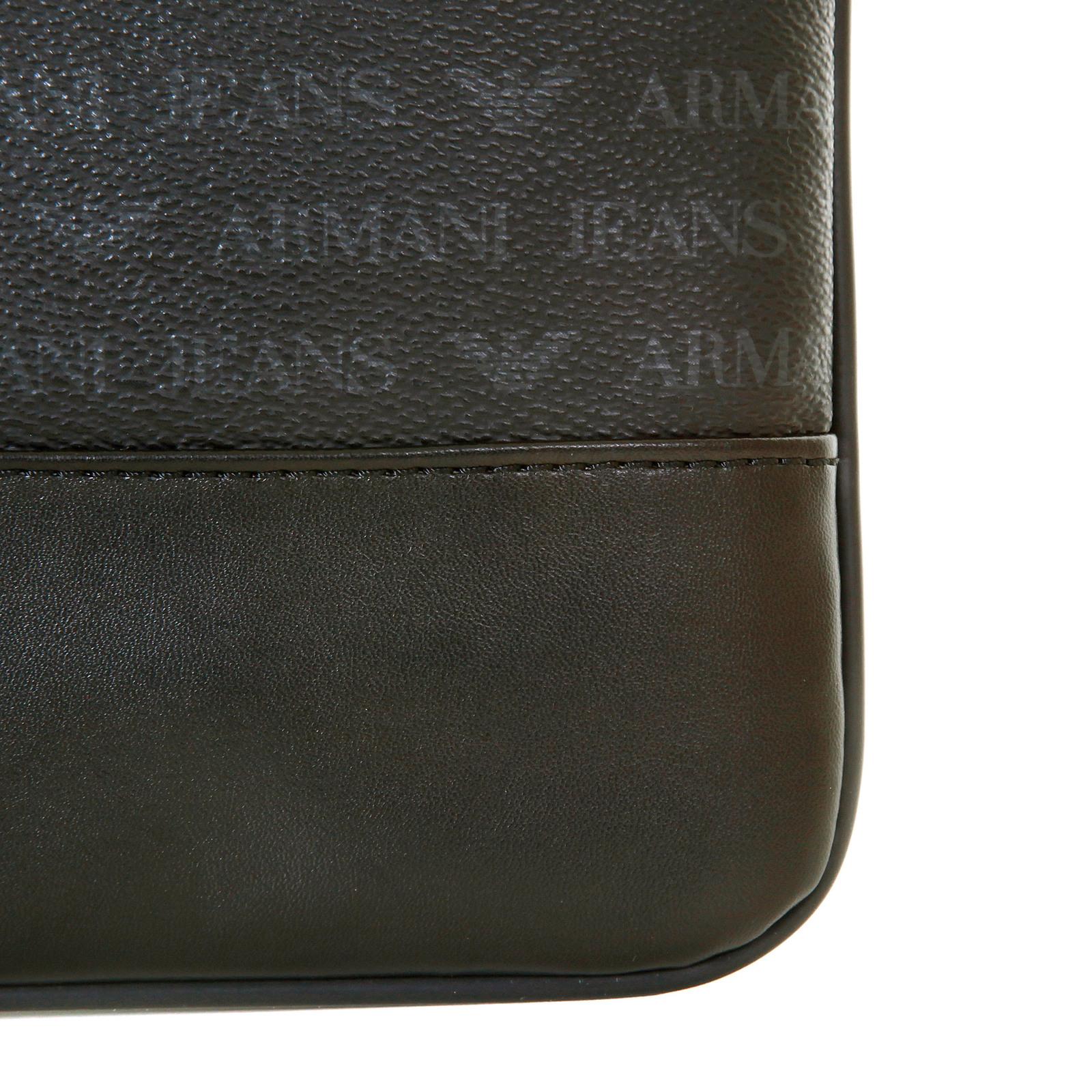 Armani Jeans mens black logo small messenger bag AJM2473 at Togged ... a7c81010238c3