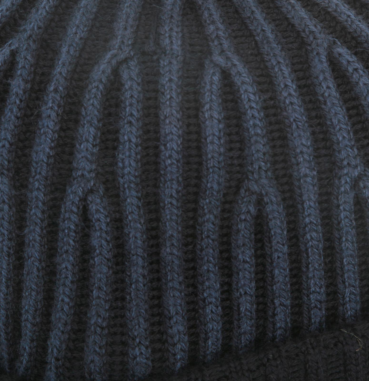 12fd51989ea Stone Island mens navy rib knit 6115N09C6 beanie hat SI3016 at ...