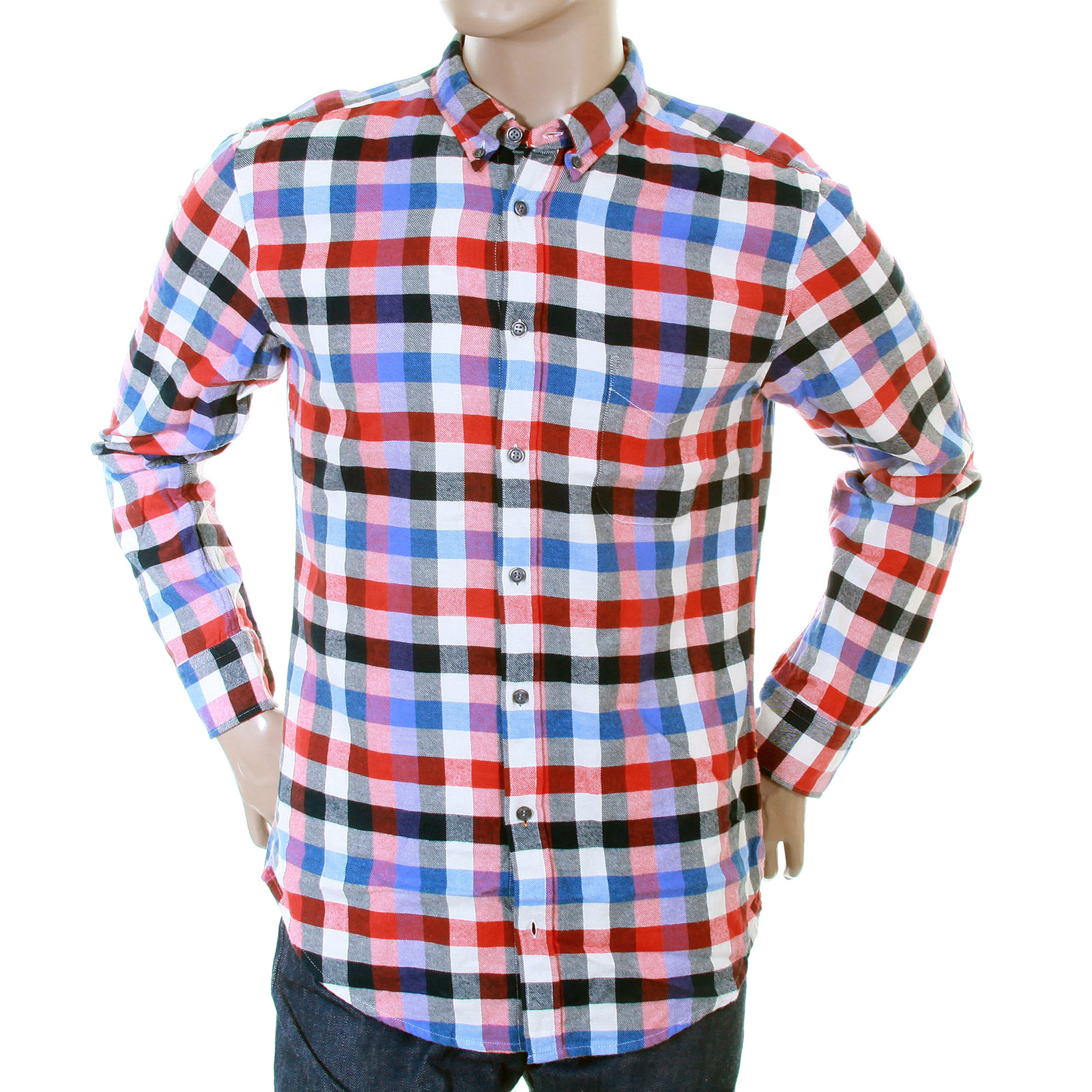 7acdf9f8555b Hugo Boss Orange Label mens cube check 50233112 EquatorE shirt BOSS2867 at  Togged Clothing