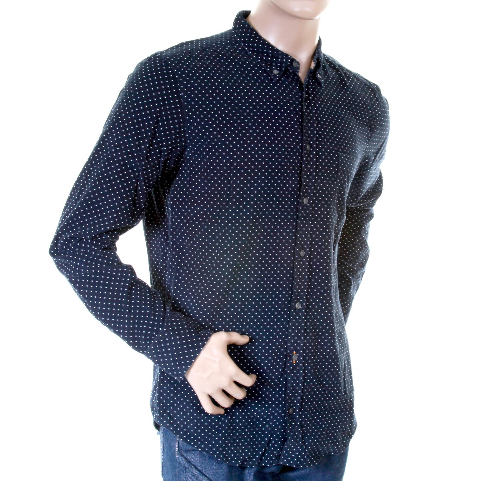 Hugo boss orange label mens navy baby cord 50232460 for Hugo boss navy shirt