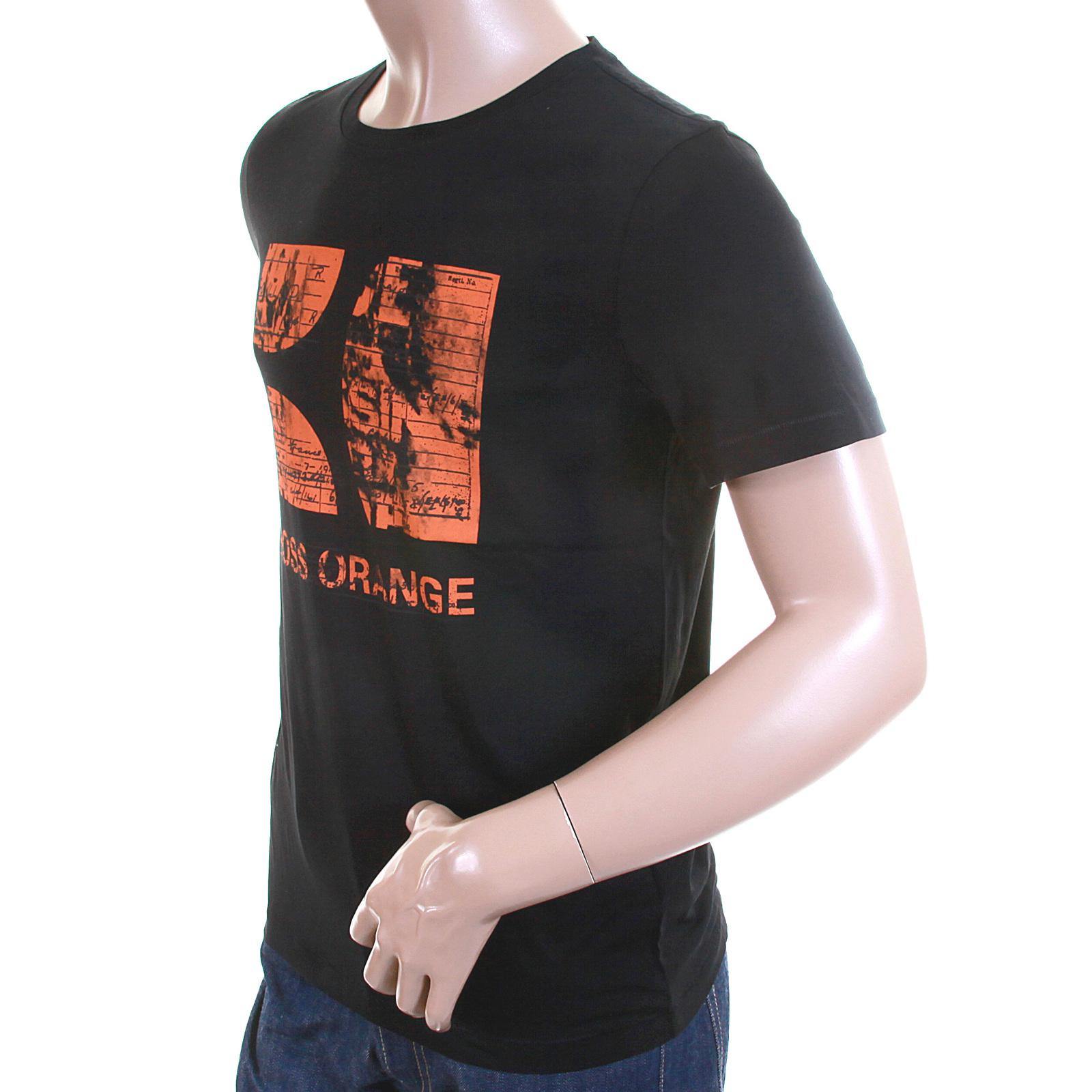 Hugo Boss Orange Label Mens Black Twisp 1 50233006 Printed