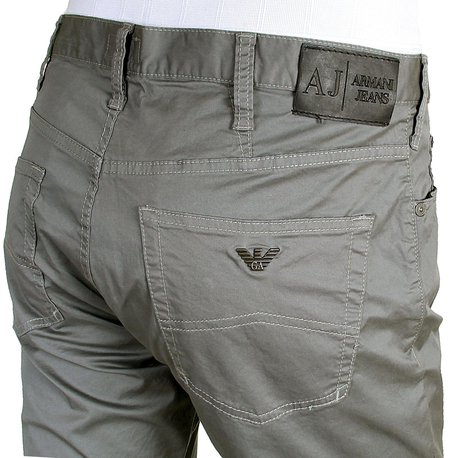 armani jeans mens j21 regular fit 06j21 qy grey stretch