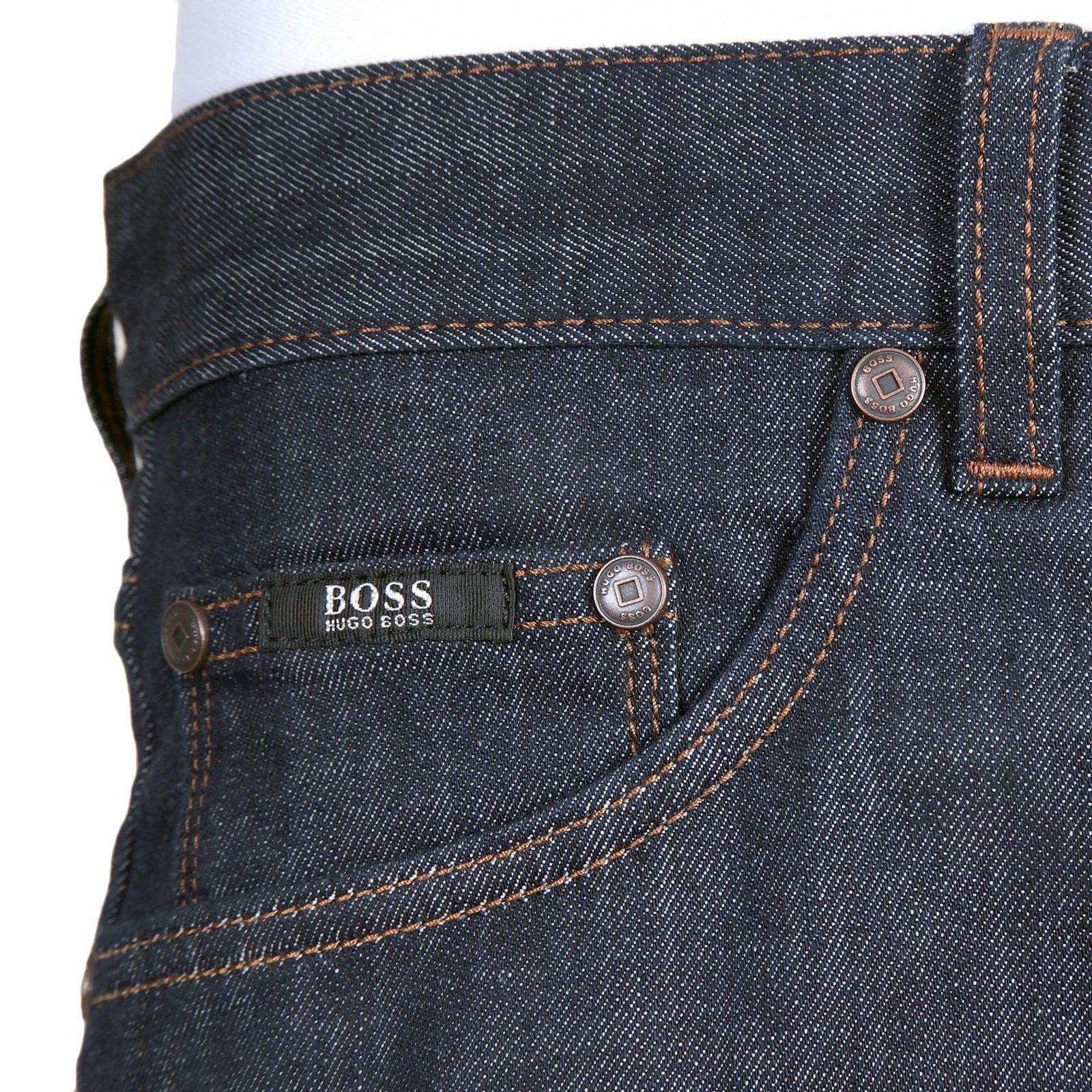 hugo boss black label mens 50247571 maine1 stretch dark denim jeans boss2718 at togged clothing. Black Bedroom Furniture Sets. Home Design Ideas