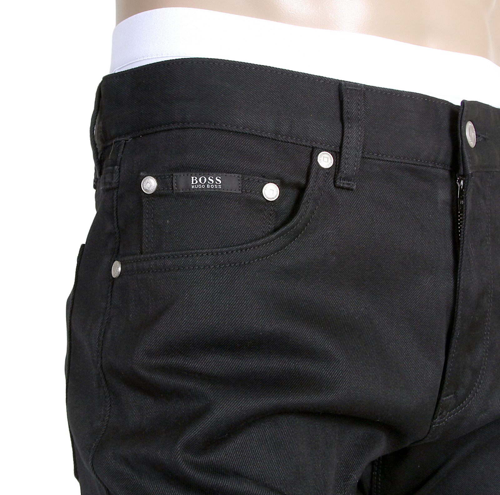 Mens Jeans With Stretch Waistband