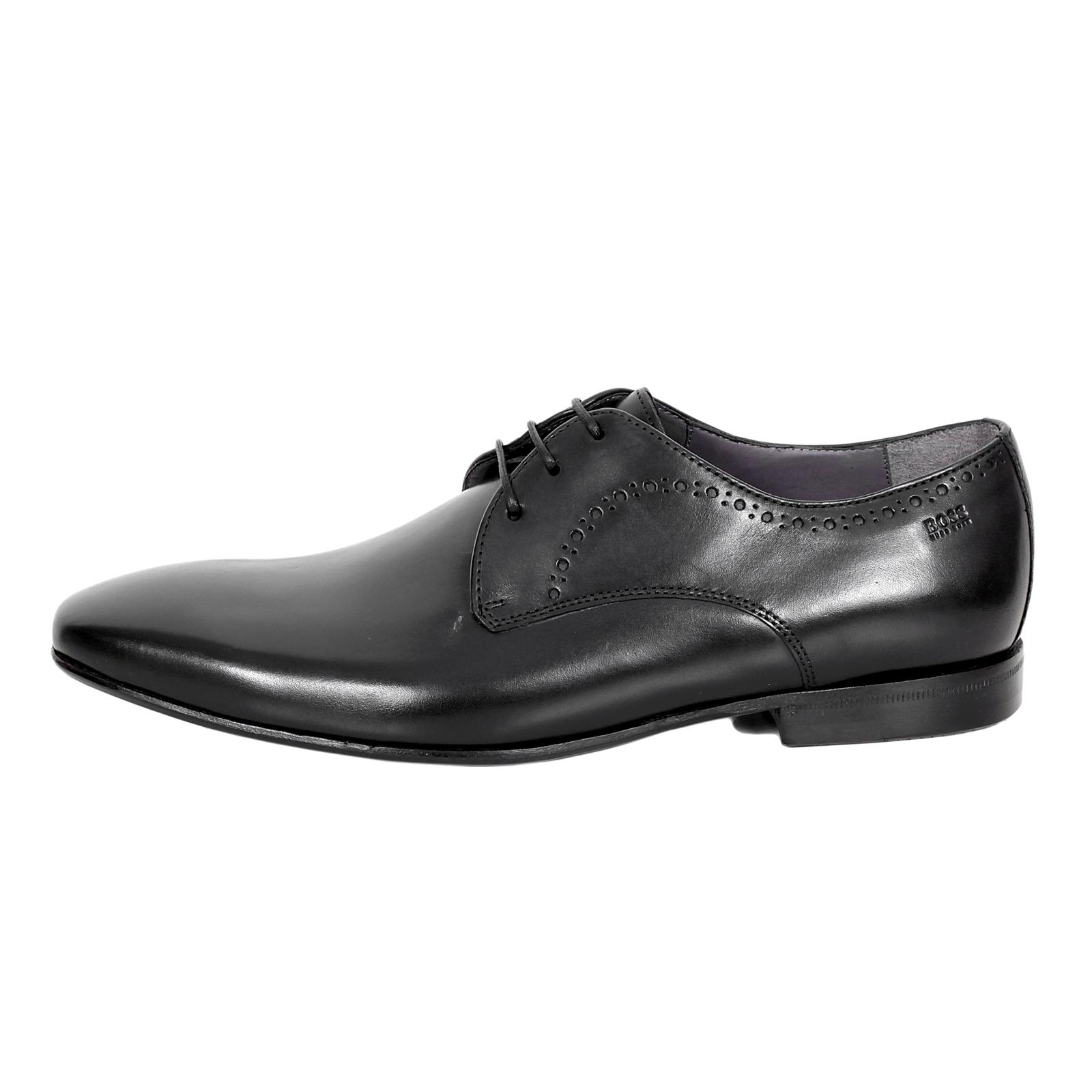 Shoes Black Bonsto 50260521 Dress Boss3476 Hugo Boss Leather