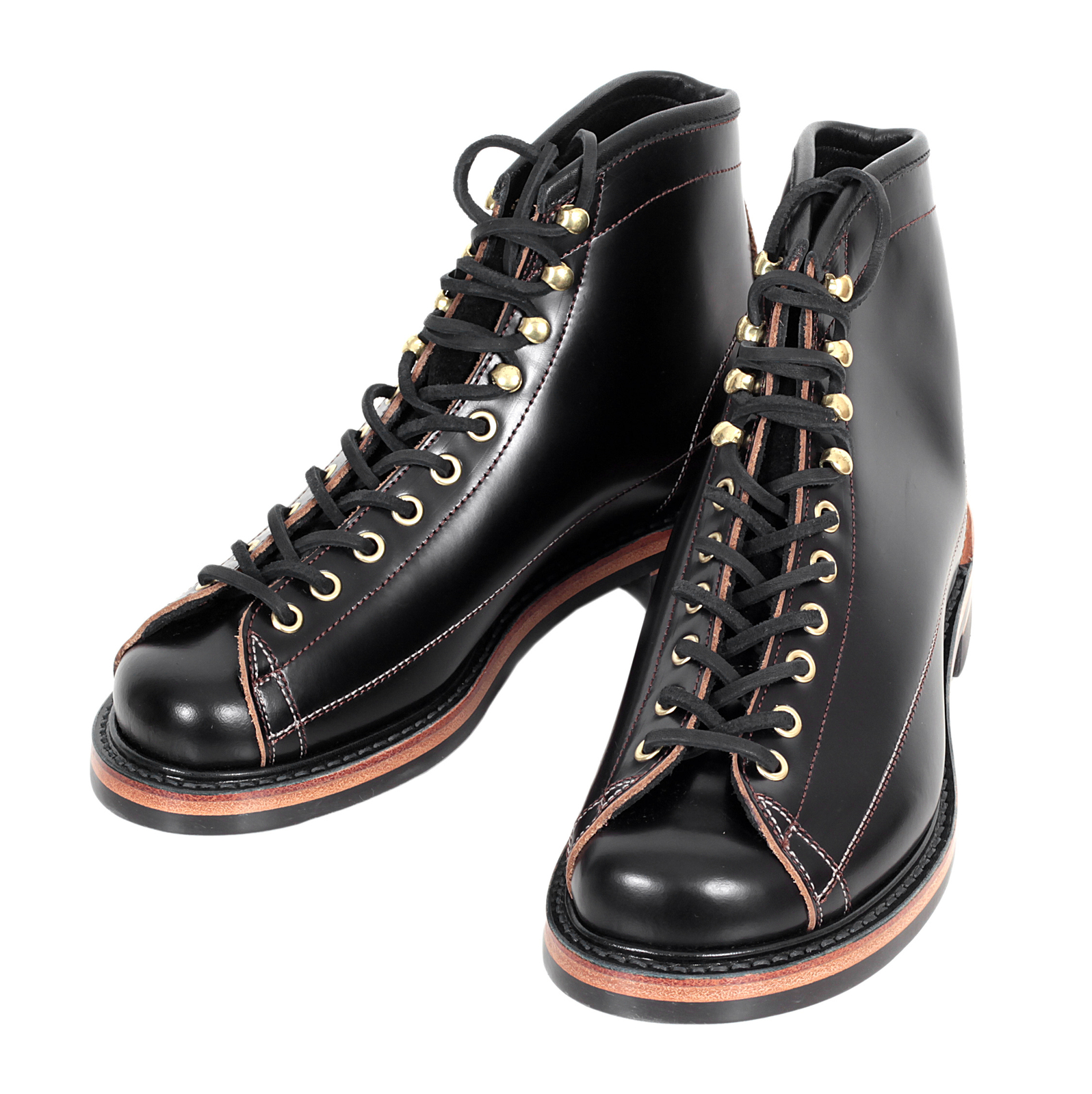Buy Incredibly Stylish Black Leather Boots By Lone Wolf