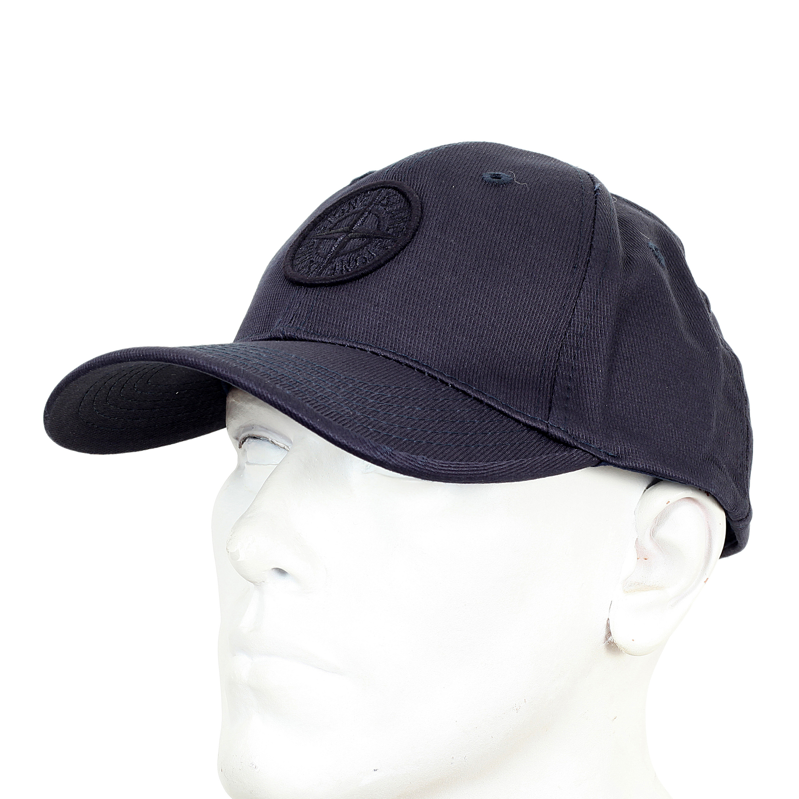 7f5c8de1f7b Stone Island mens navy cotton 611599194 baseball cap SI4078 at Togged  Clothing