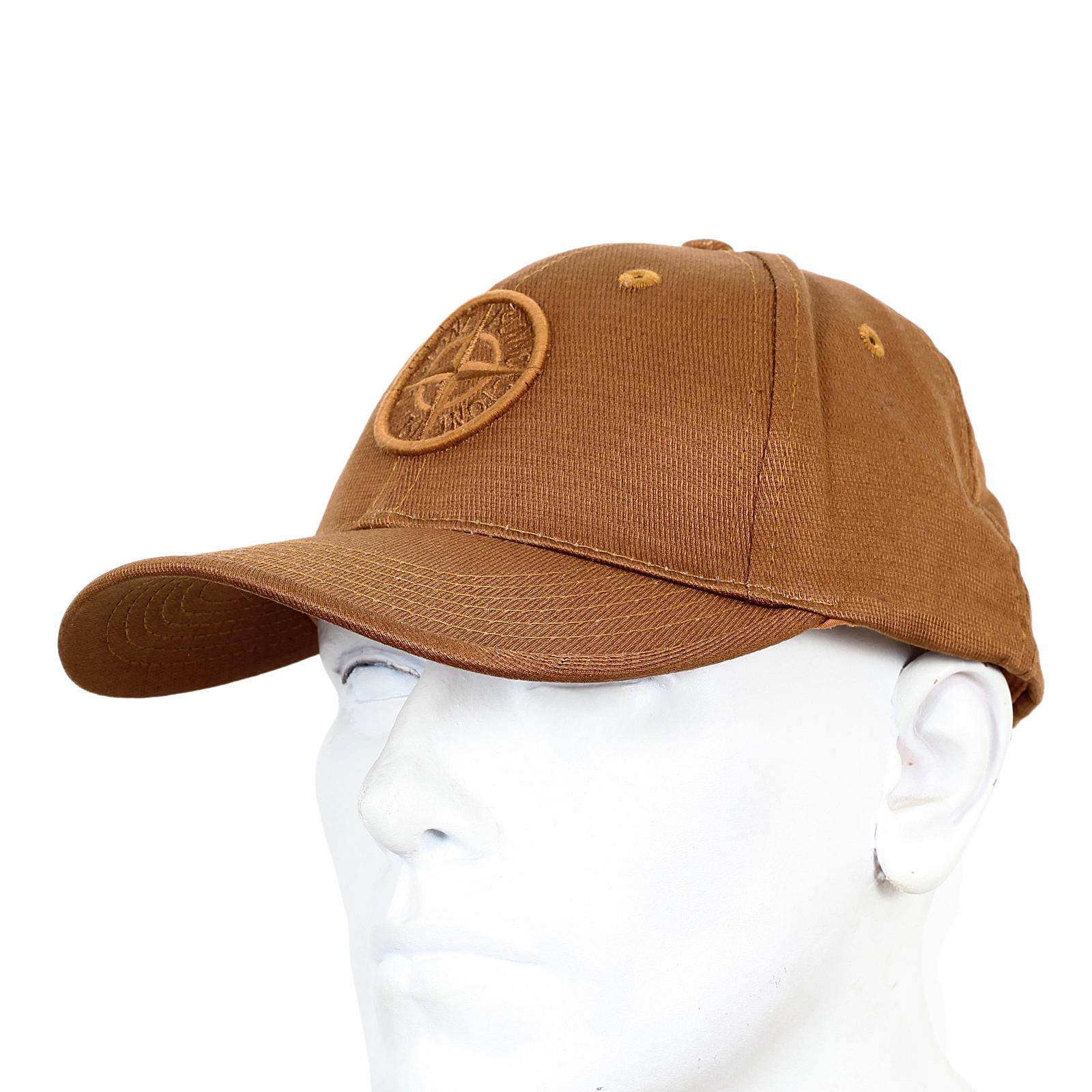 56068b28ac0 Stone Island mens tan cotton 611599194 baseball cap SI4079 at Togged  Clothing