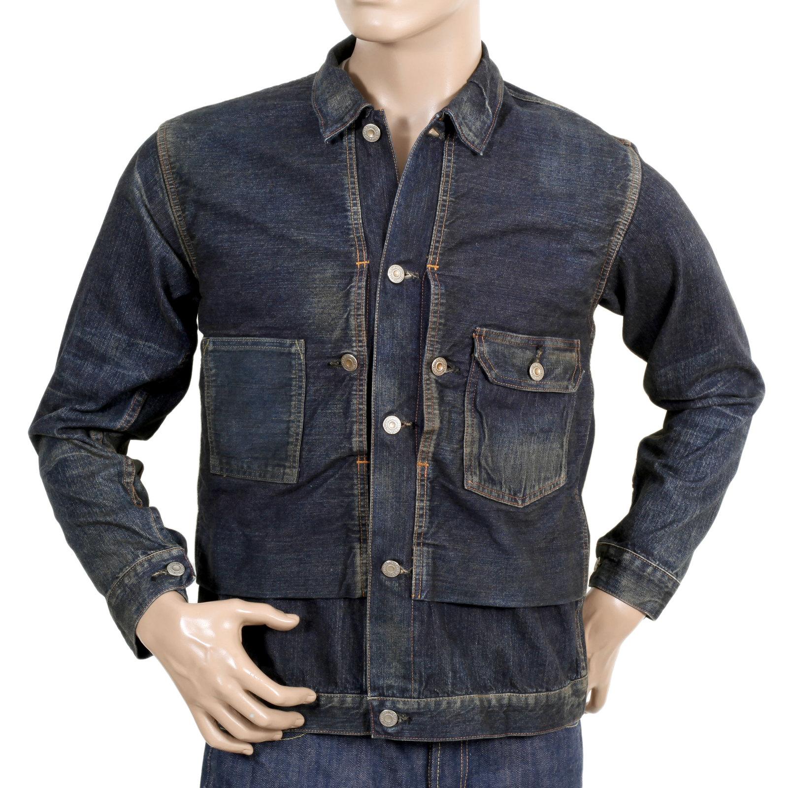 e2a2e340ff6 Check out Sugarcane Vintage Cut Denim Jackets for Men
