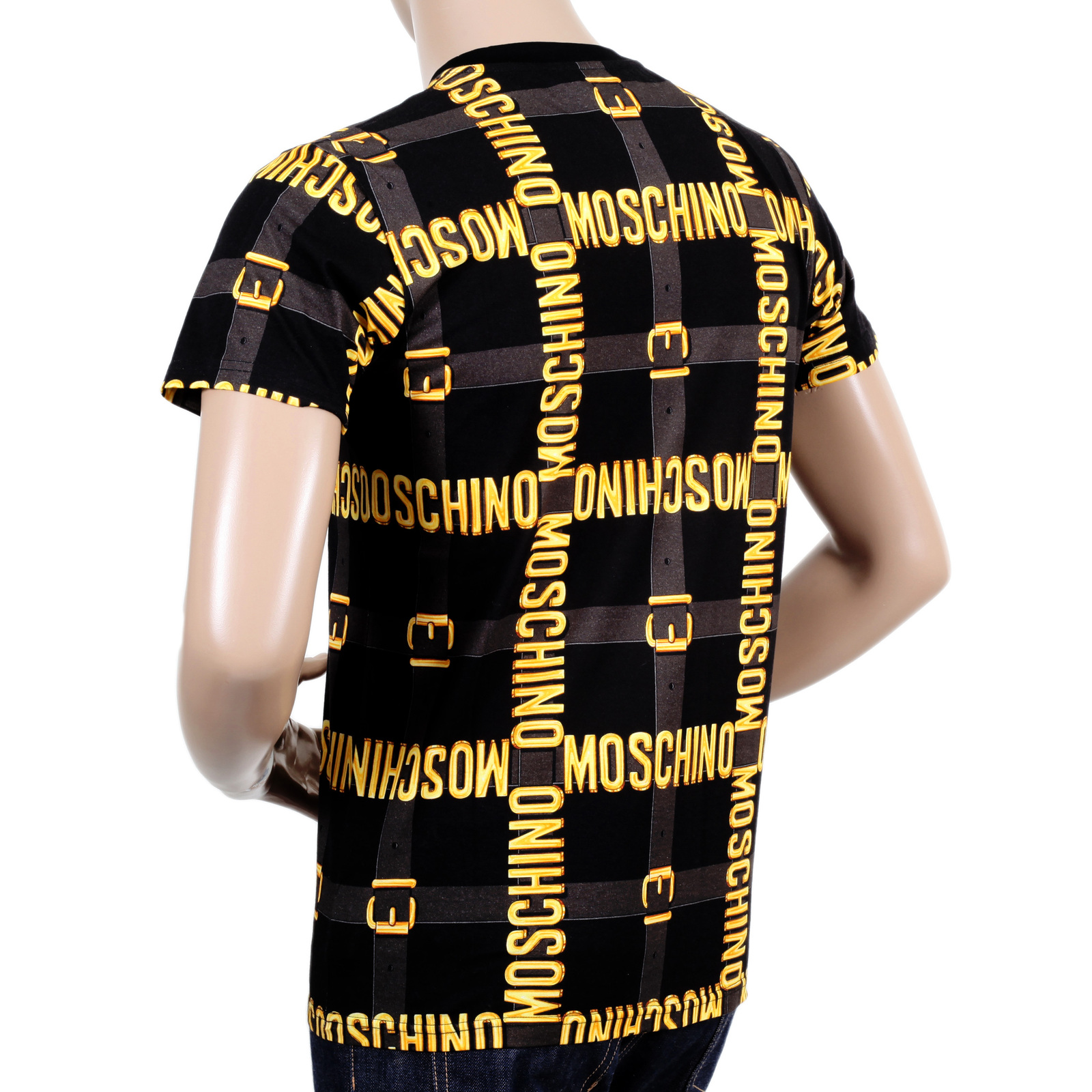 buy your moschino mens logo t shirt toggedcom