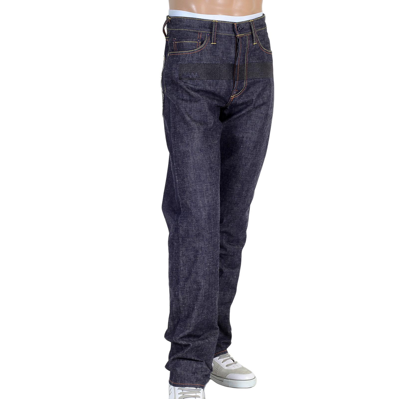 Buy Raw Selvedge Indigo Denim Red Monkey Jeans for Men