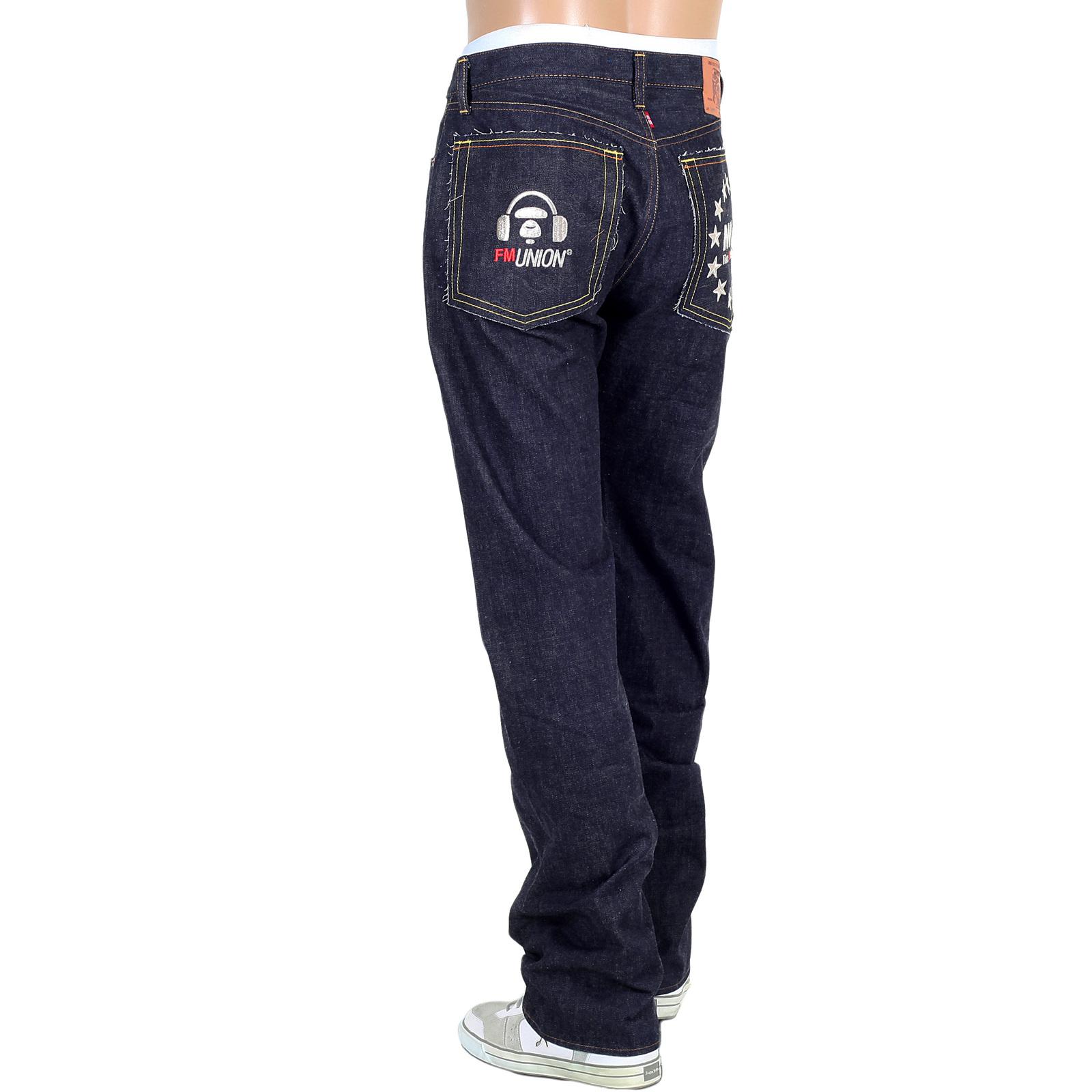 Buy Red Monkey Mens Slim Fit Raw Selvedge Denim Jeans