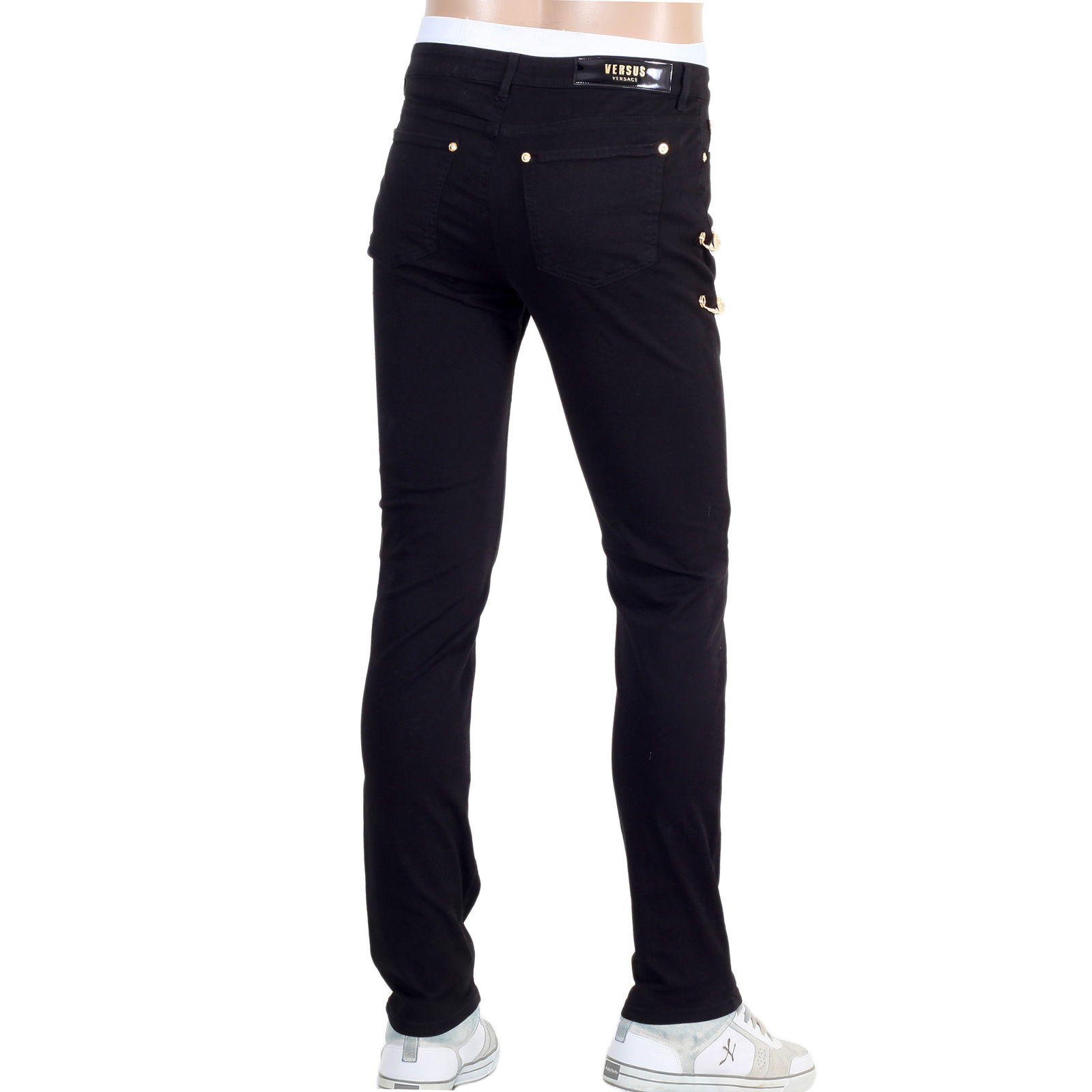 Buy Now! Versace Black Jeans | Togged