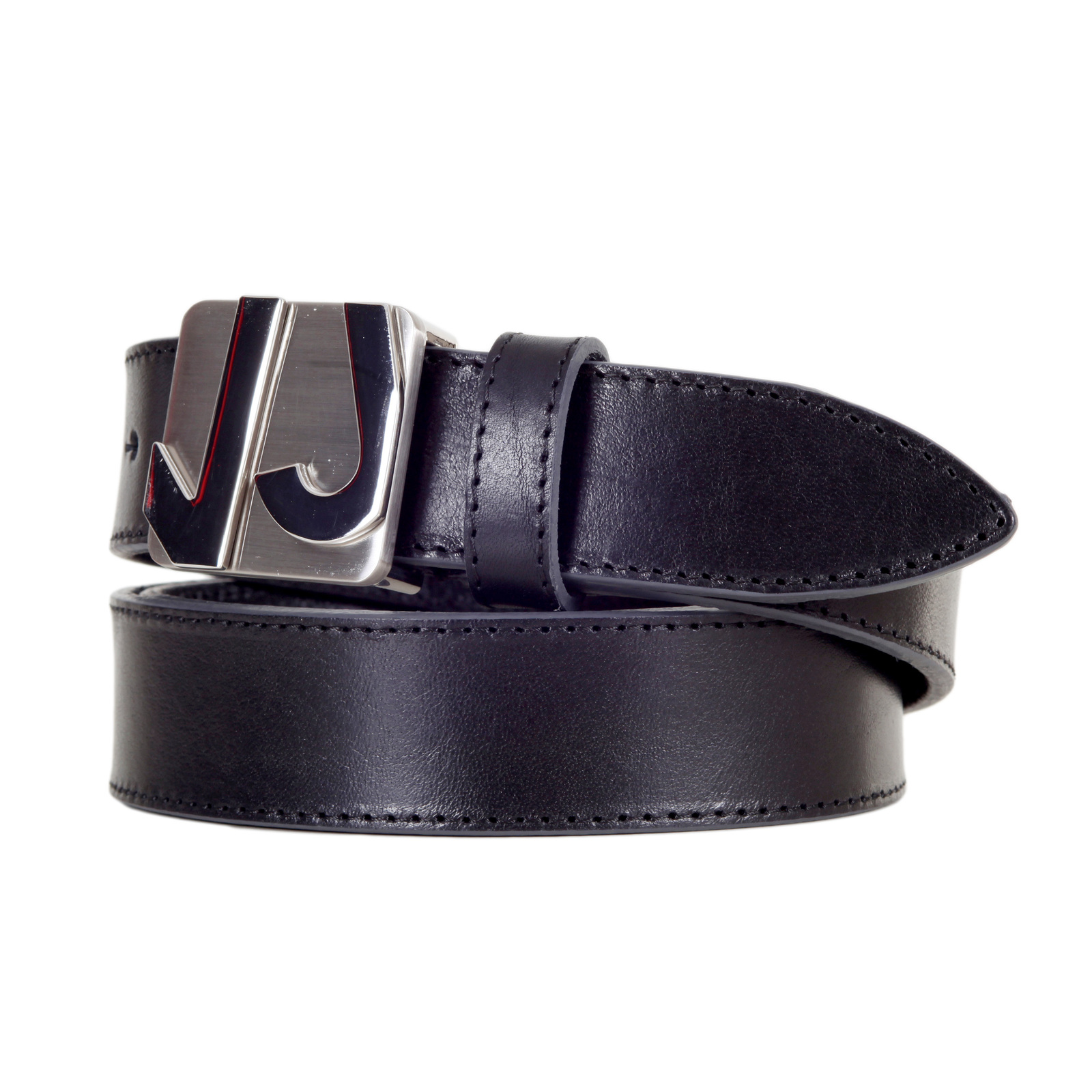 mens leather belts for in black by versace