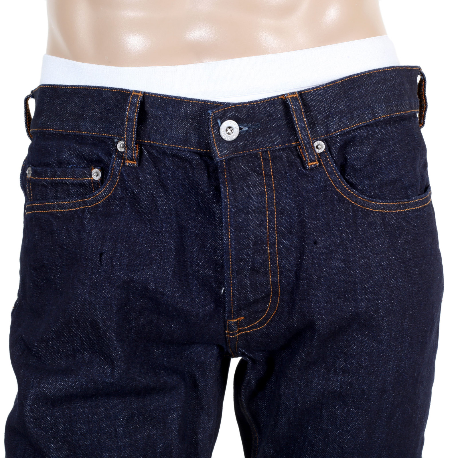 Mens Stone Wash Jeans