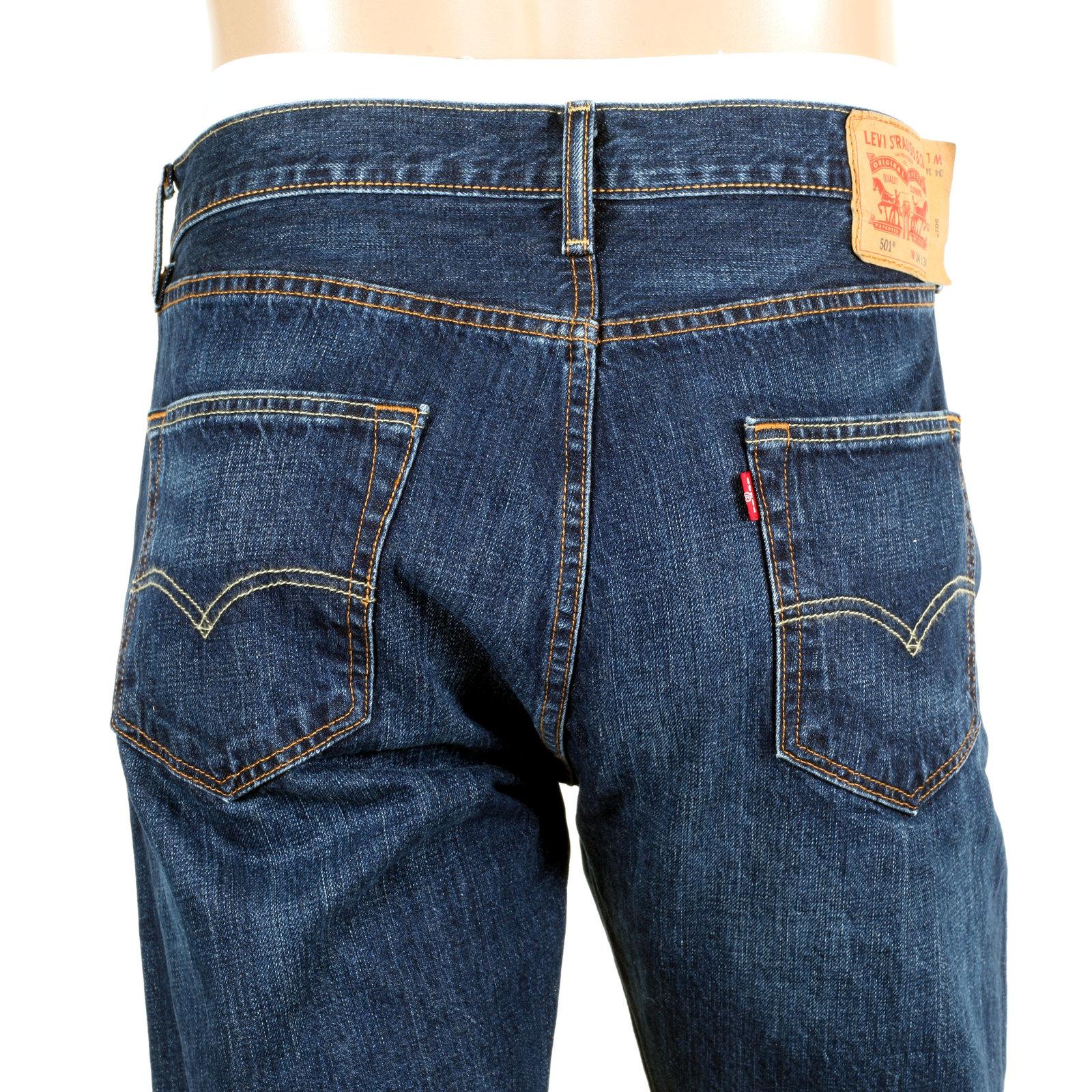 shop for 501 original fit jeans in dark blue from levis. Black Bedroom Furniture Sets. Home Design Ideas